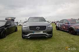 Fram av Volvo XC90 T8 TwEn AWD Geartronic, 407ps, 2017 på Vallåkraträffen 2019