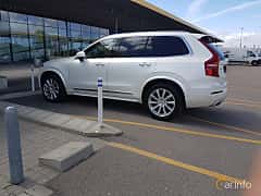 Side  of Volvo XC90 Polestar 2.0 D5 AWD Geartronic, 233ps, 2016