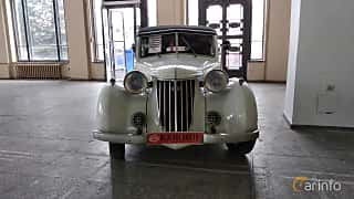 Front  of Wanderer W24 Cabriolet 1.8 Manual, 42ps, 1940 at Old Car Land no.2 2018
