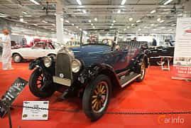 Front/Side  of Willys Whippet Phaeton 2.2 Manual, 30ps, 1926 at Bilsport Performance & Custom Motor Show 2018