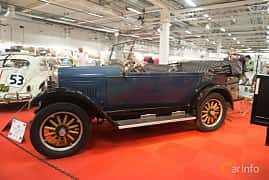 Side  of Willys Whippet Phaeton 2.2 Manual, 30ps, 1926 at Bilsport Performance & Custom Motor Show 2018