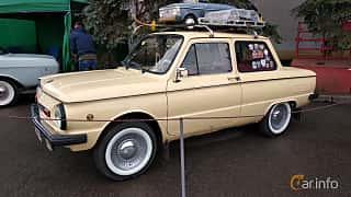 Front/Side  of ZAZ ZAZ-968M 1979 at Old Car Land no.2 2018