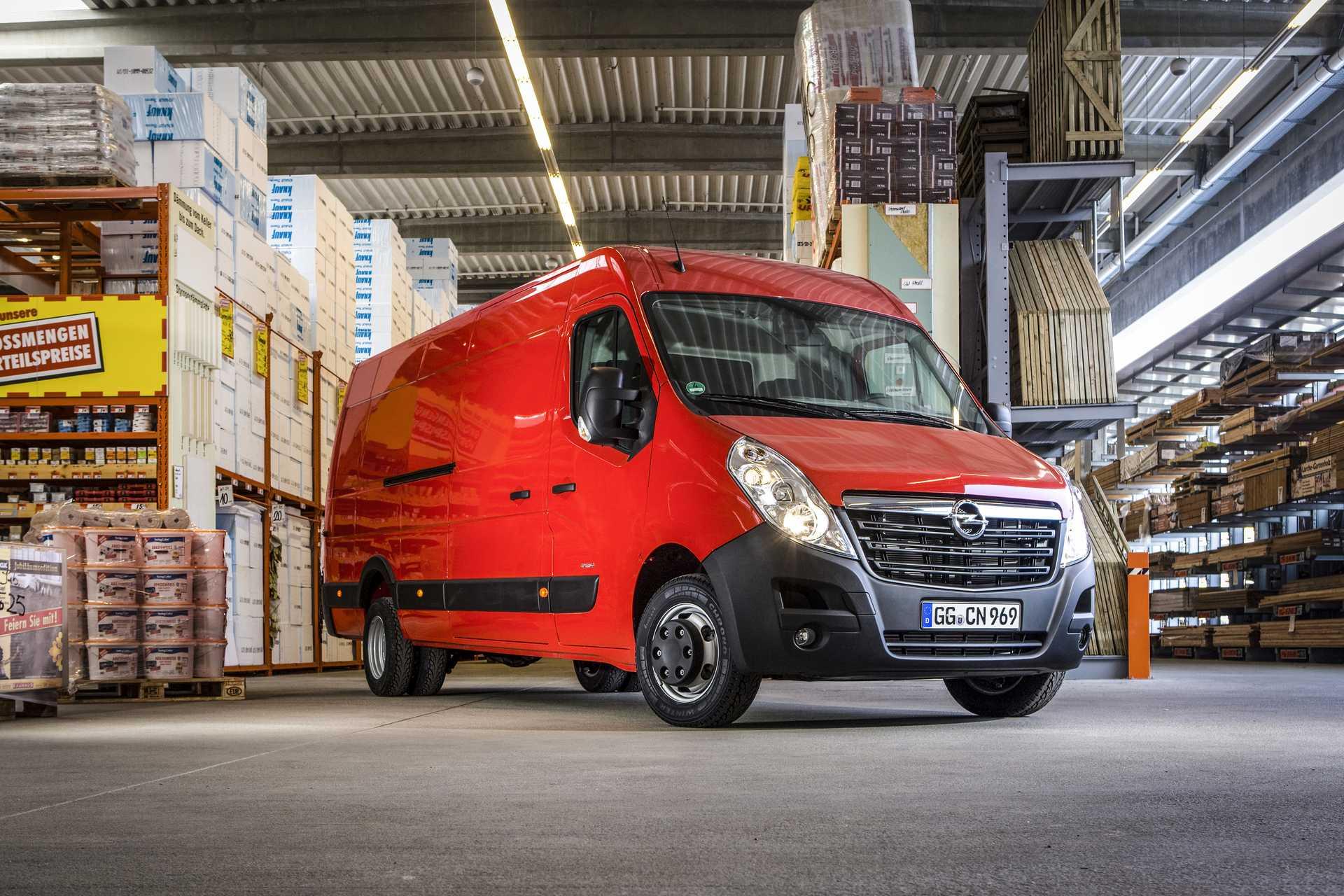 Opel Movano Van B