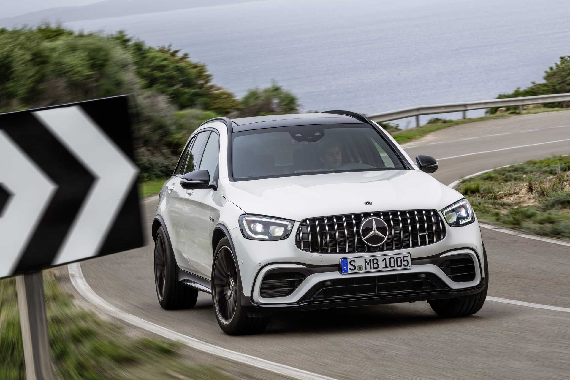 Mercedes-Benz AMG GLC 63 S 4MATIC+  , 510hp, 2019