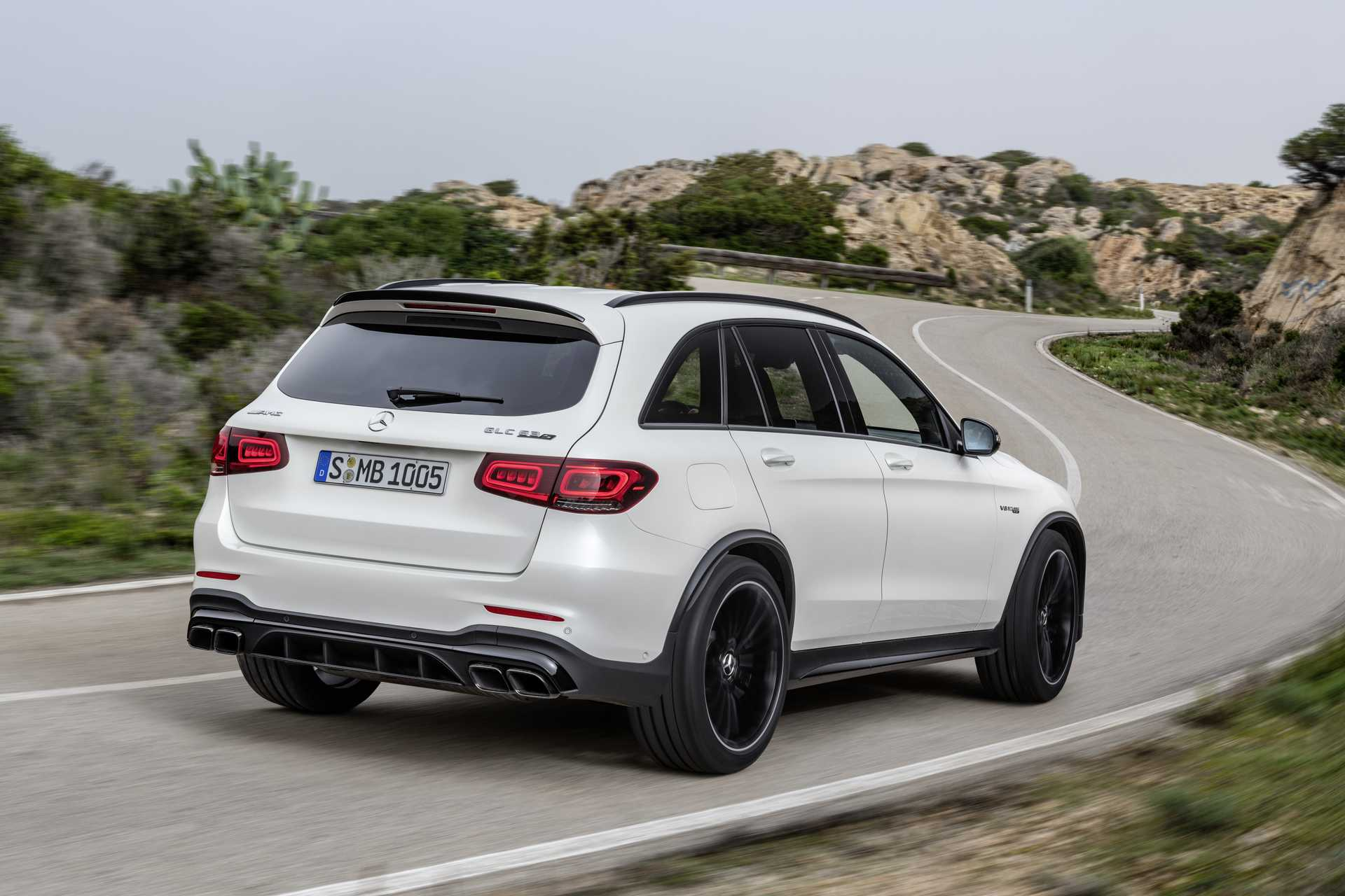 Mercedes-Benz AMG GLC 63 S 4MATIC+  , 510hp, 2019