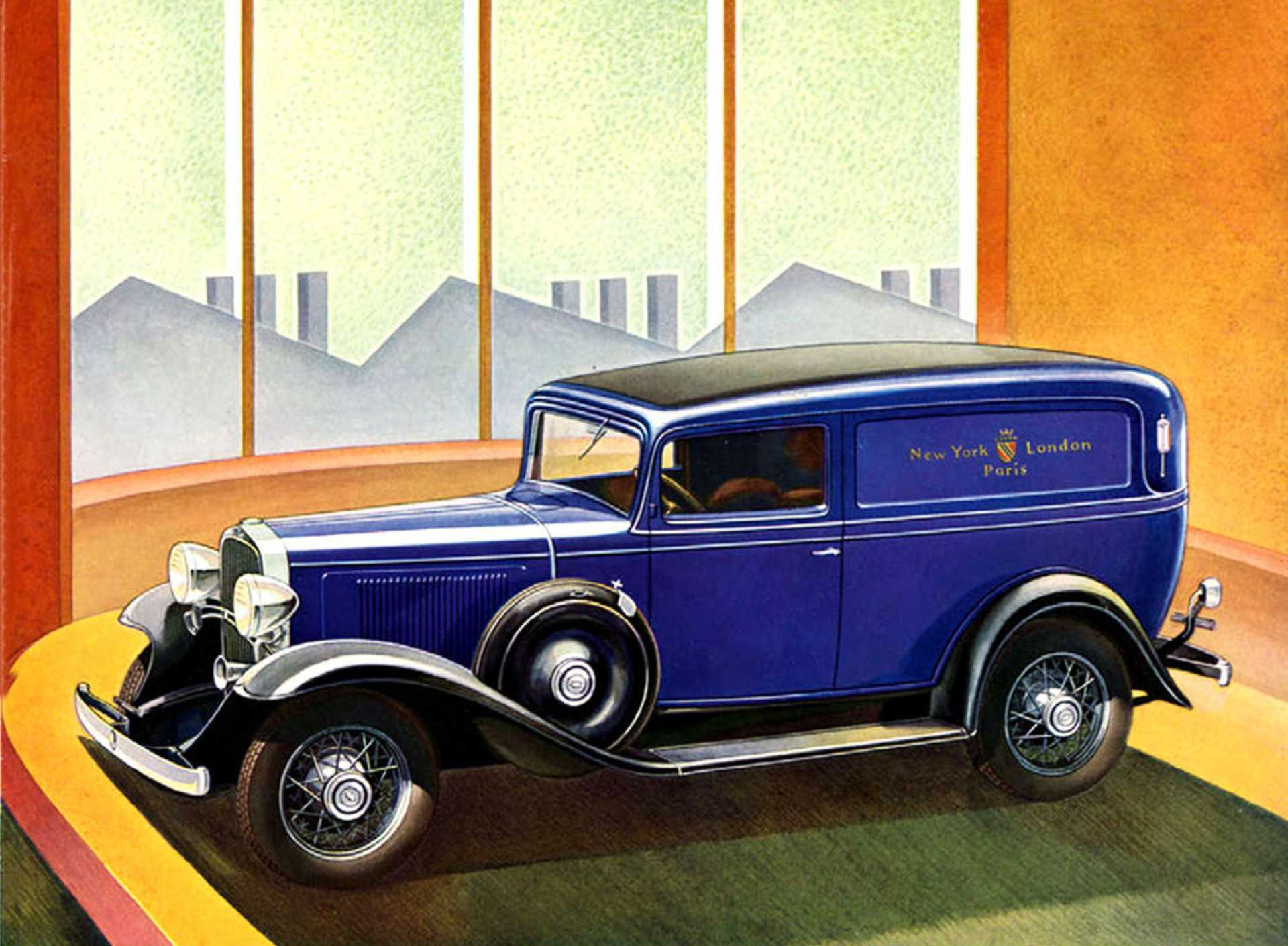 Chevrolet Master Six Sedan Delivery 3.4 Manual, 57hp, 1933
