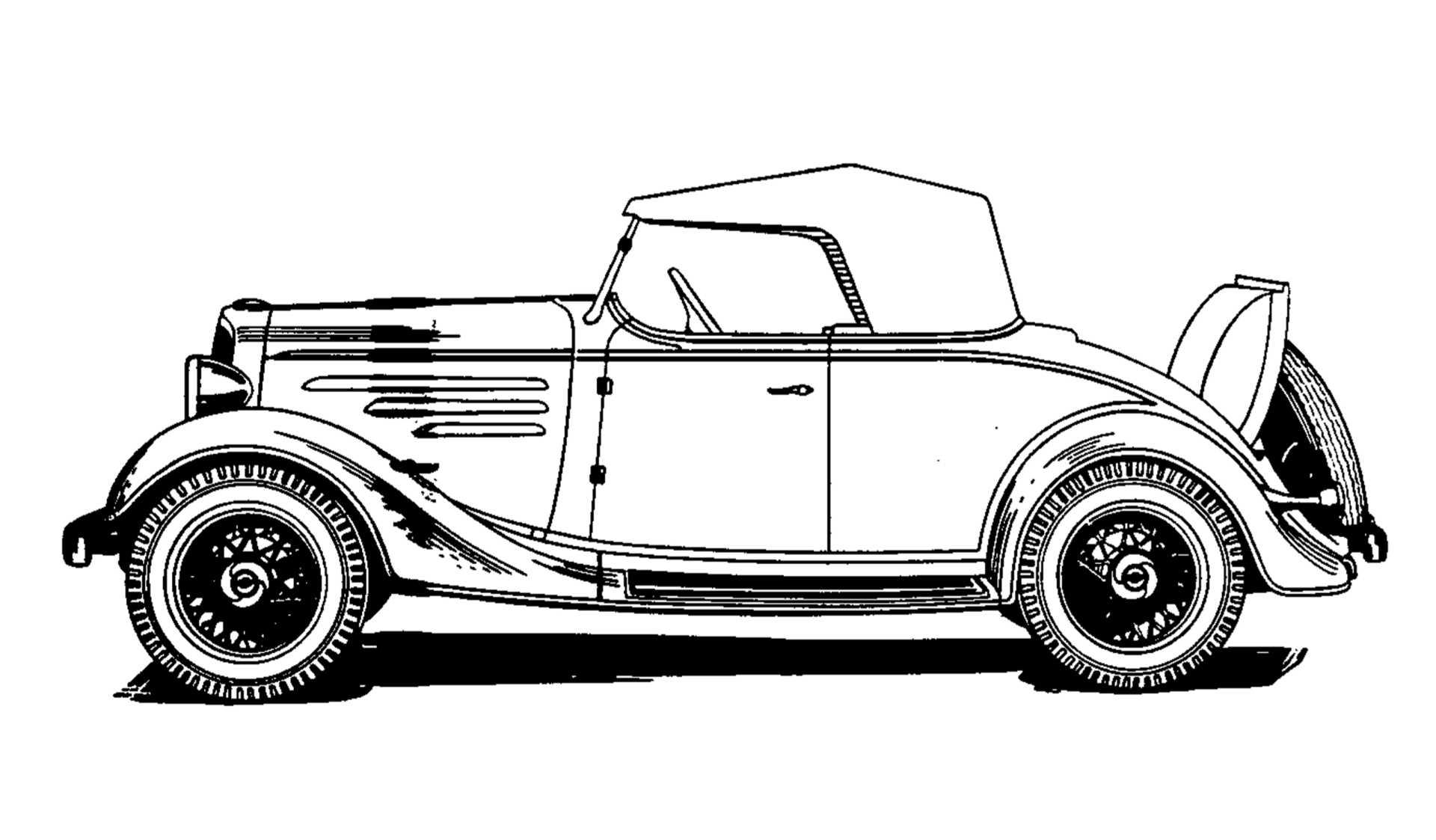 Chevrolet Standard Sport Roadster 3.0 Manual, 61hp, 1934