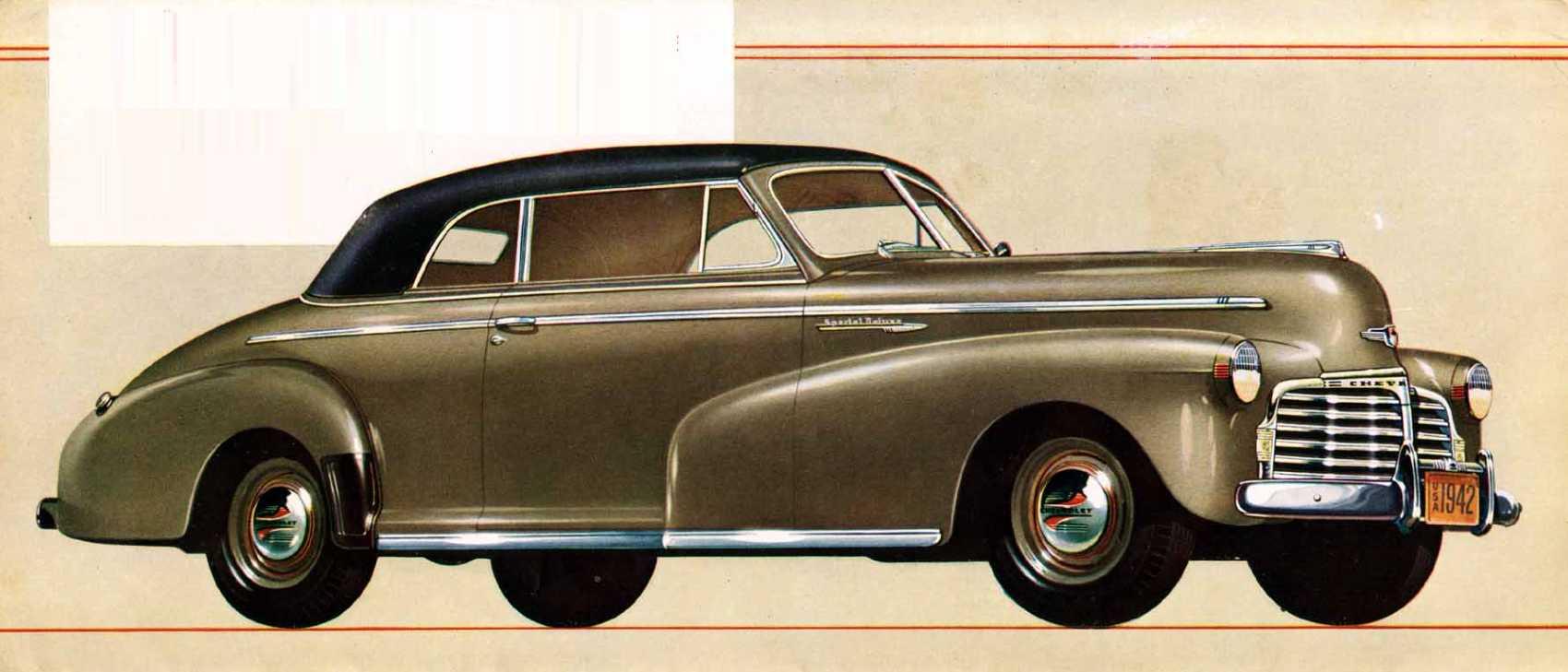 Chevrolet Special Deluxe Cabriolet 3.5 Manual, 91hp, 1942