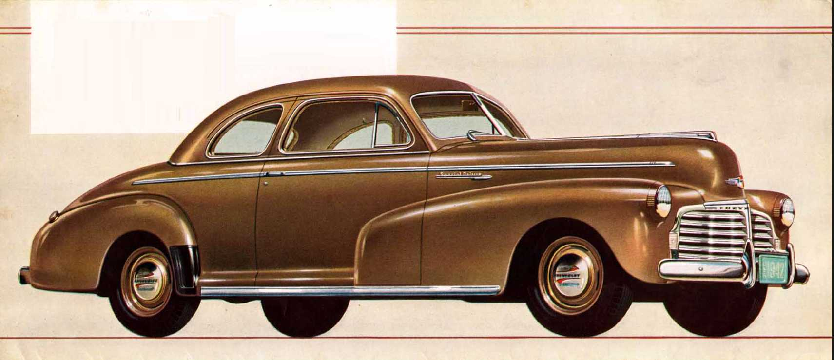 Chevrolet Special Deluxe Coupé 3.5 Manual, 91hp, 1942