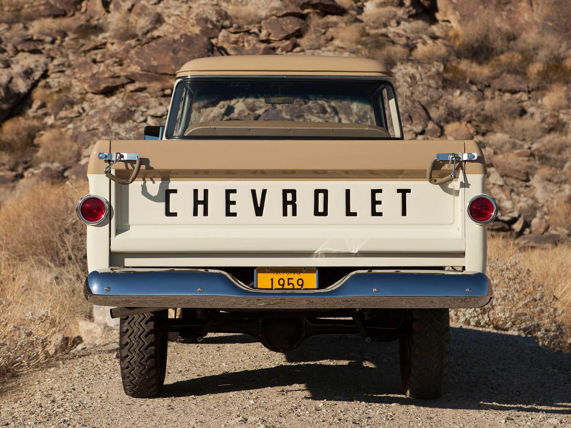 Chevrolet Apache 31/32 Fleetside NAPCO Powr-Pak 3.9 4x4 Manual, 137hp, 1959