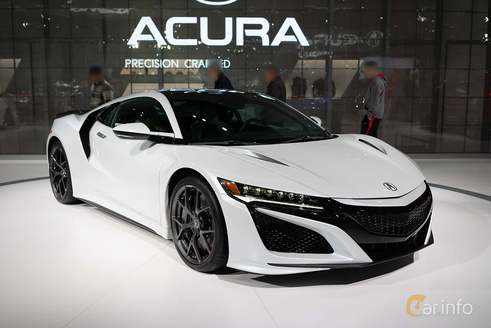 Front/Side  of Acura NSX 3.5 V6 SH-AWD DCT, 573ps, 2019 at LA Motor Show 2018