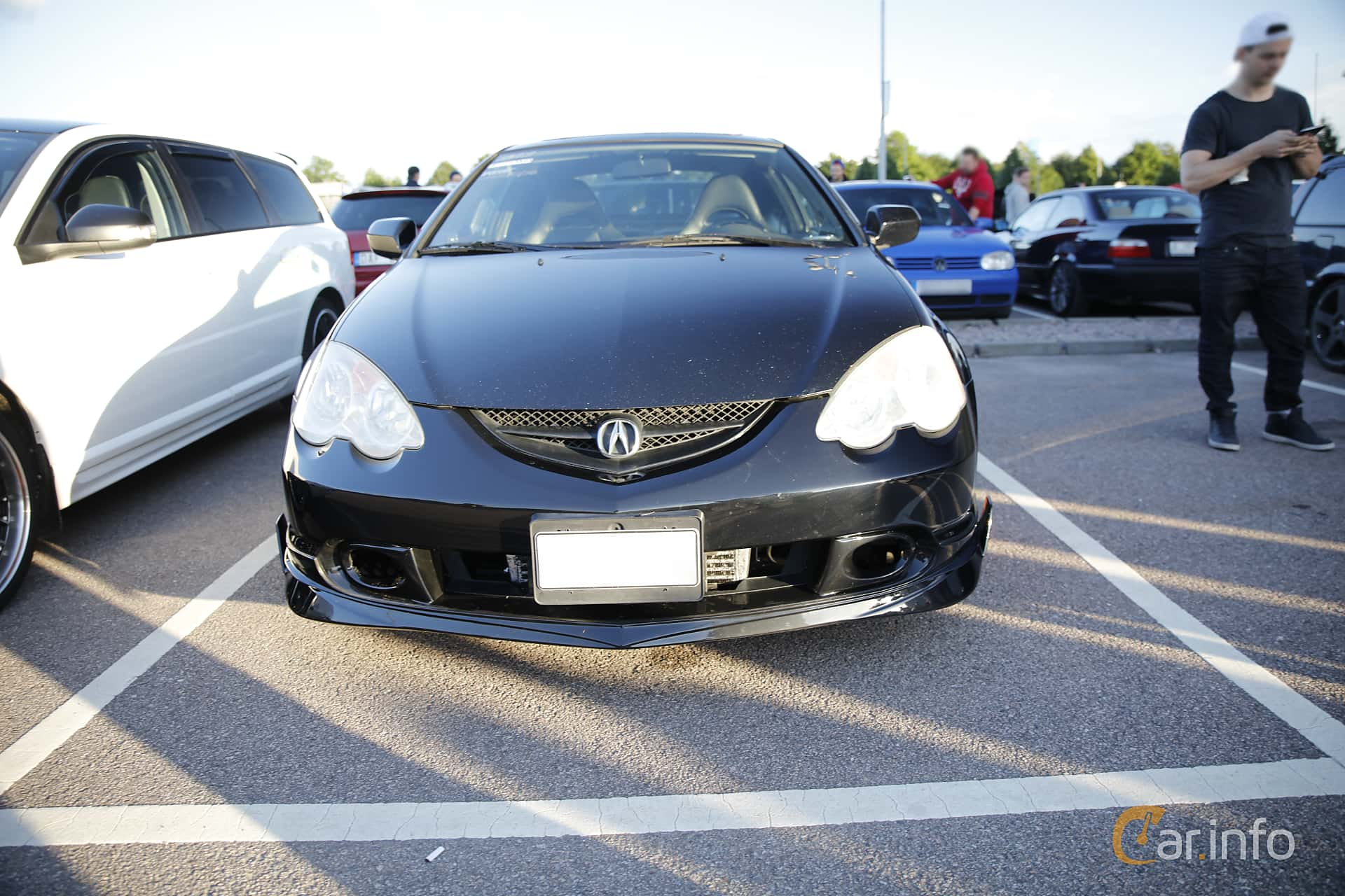 Acura RSX Type-S 2.0 Manual, 203hp, 2003 at Halmstad By Night 2016