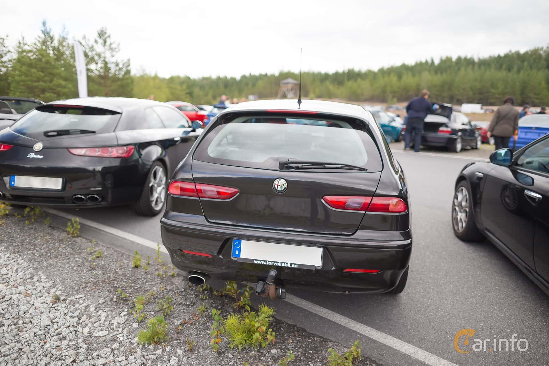 Back of Alfa Romeo 156 Sportwagon 2.0 JTS Manual, 165ps, 2003 at Arlanda  Bilfestival