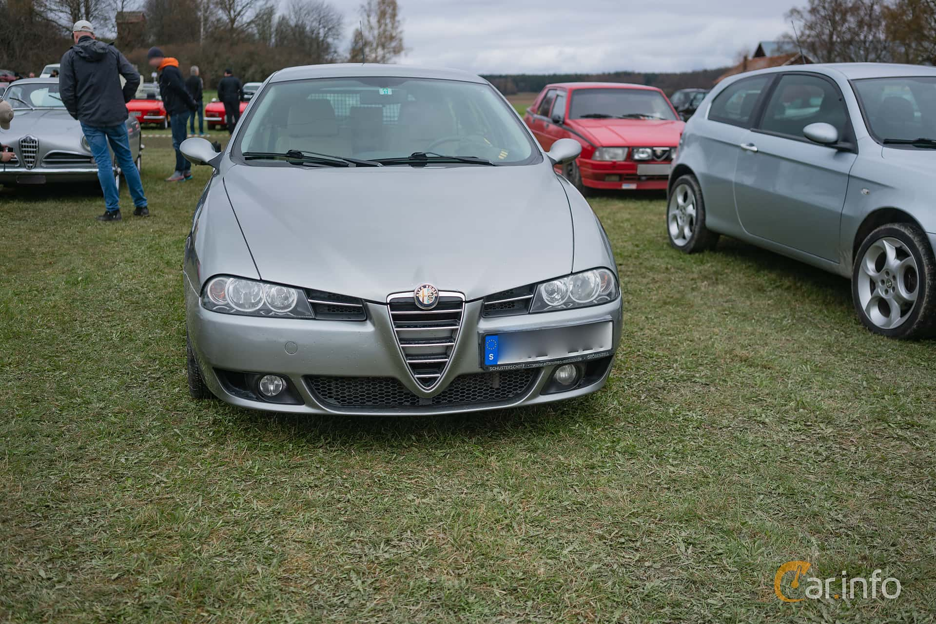 Front of Alfa Romeo 156 Sportwagon 2.4 JTDM Manual, 175ps, 2005 at  Italienska Fordonsträffen
