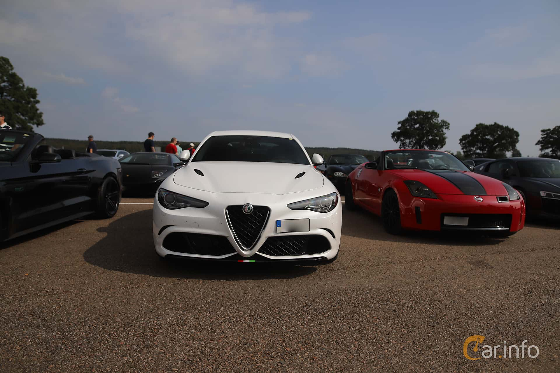 Alfa Romeo Giulia Quadrifoglio 2.9 V6 QV Automatic, 510hp, 2018 at Autoropa Racing day Knutstorp 2019