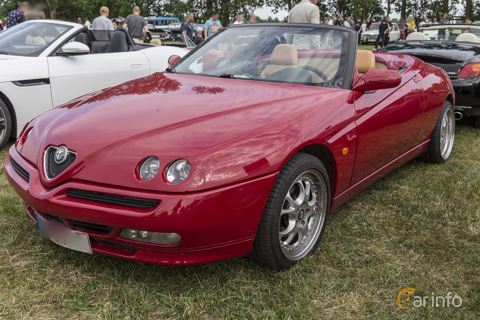 4 images of alfa romeo spider 2 0 ts manual 155hp 1998 by pelle rh car info 1986 Alfa Romeo Spider 1998 Alfa Romeo GTV