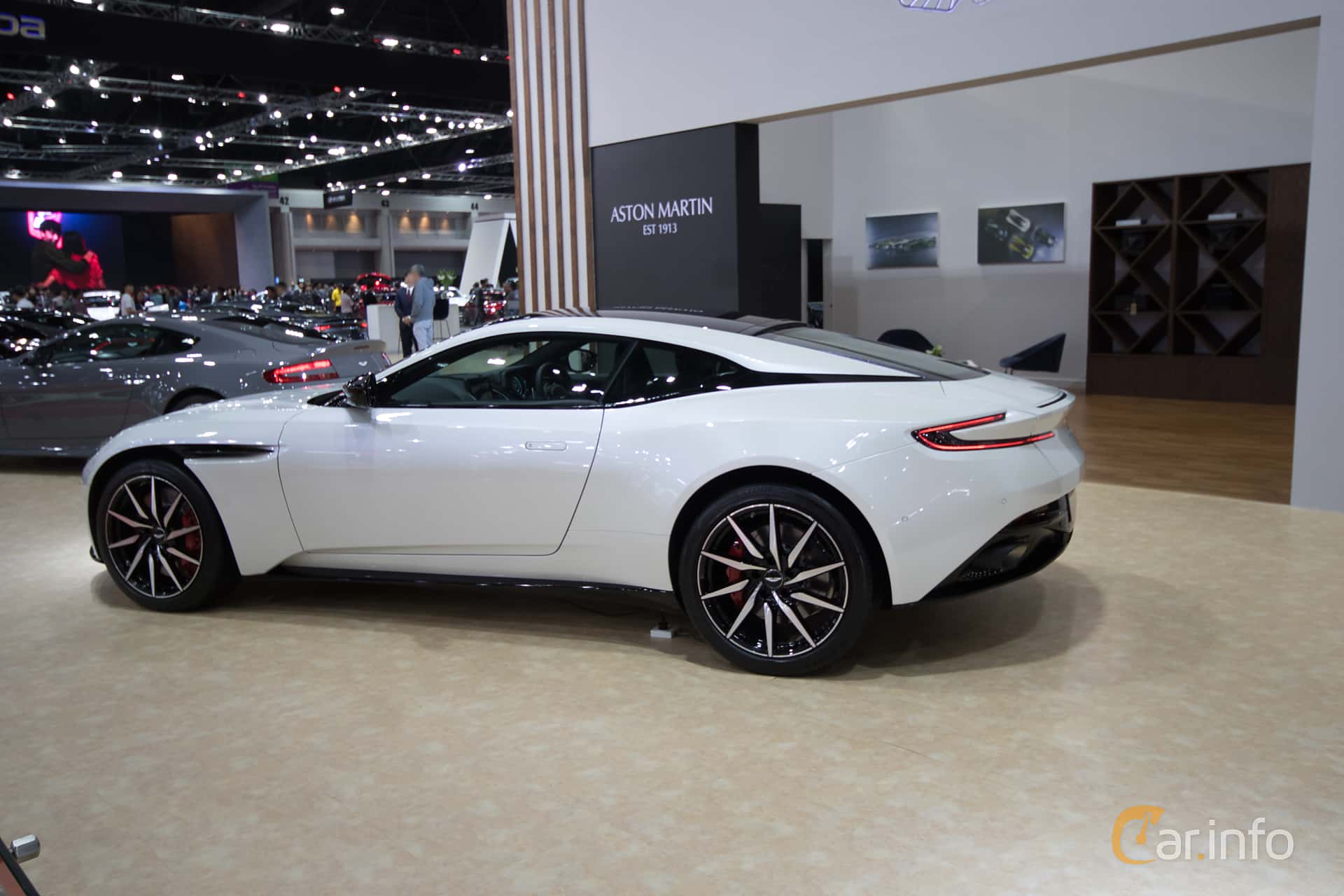 Aston Martin DB11 4.0 V8 Automatic, 510hp, 2019 at Bangkok Motor Show 2019