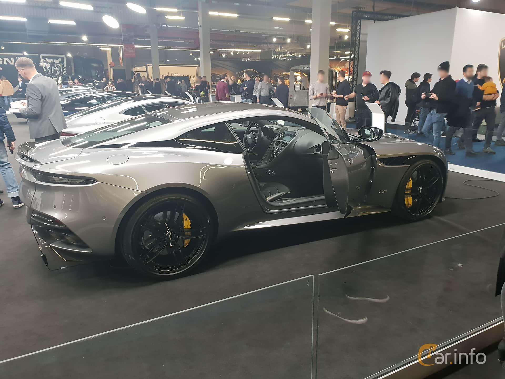 Aston Martin DBS Superleggera 5.2 V12 Automatisk, 725hk, 2018 at Warsawa Motorshow 2018
