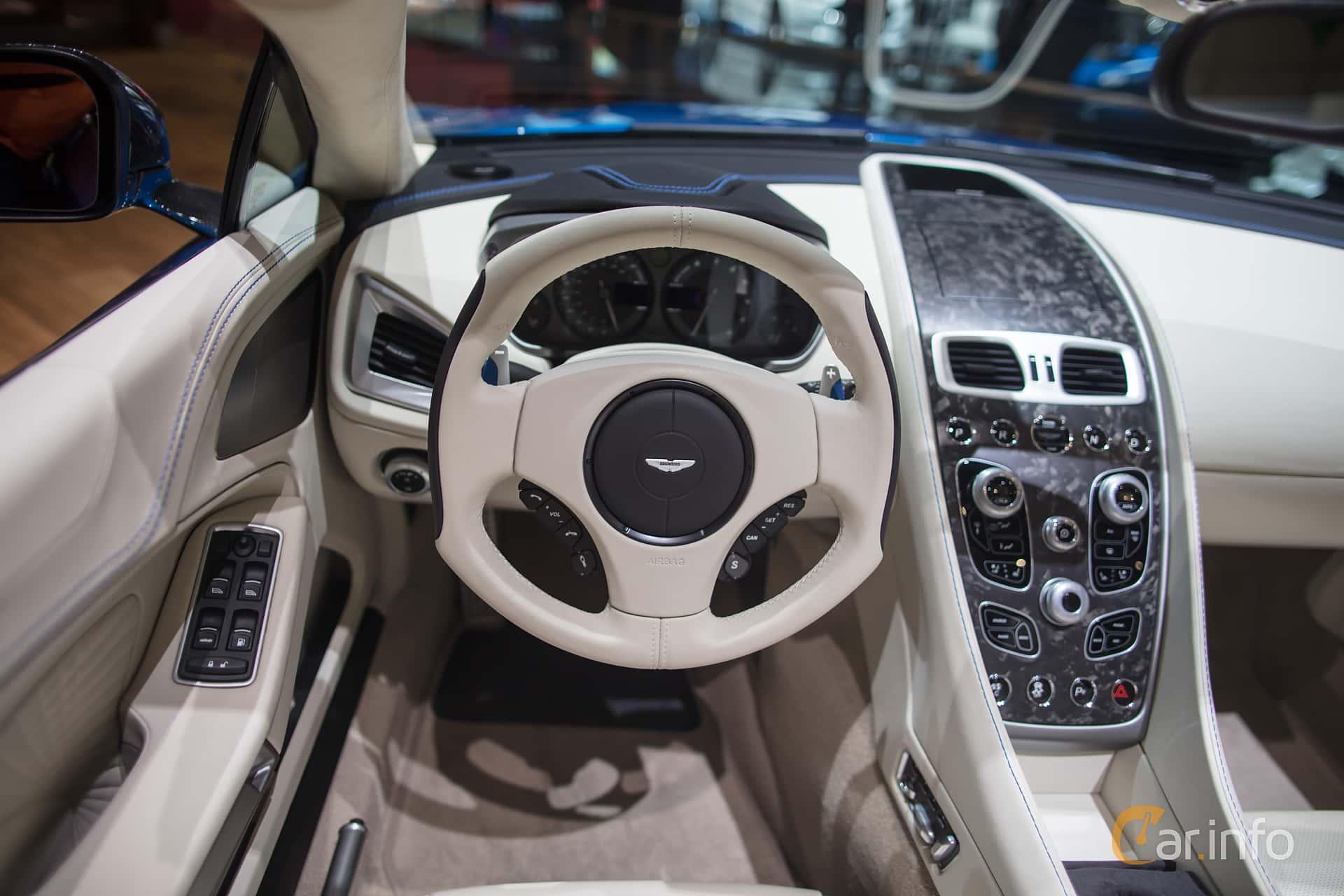 Interior Of Aston Martin Vanquish S Volante 5 9 V12 Touchtronic3