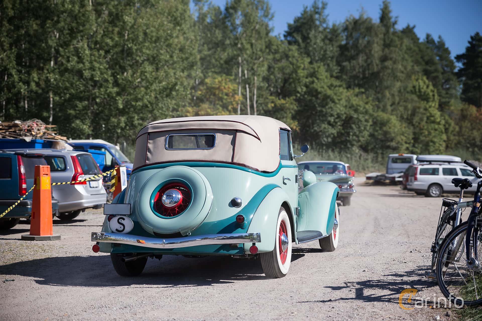Auburn 652 Phaeton 3.4 Manual, 86hp, 1934 at Eskilstunas Veterandag 2015
