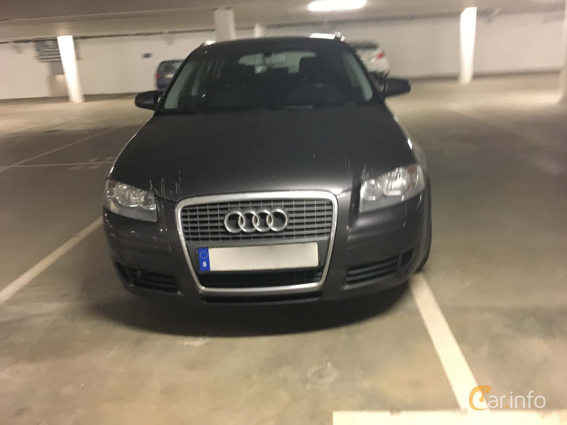 Front of Audi A3 Sportback 2.0 FSI Manual, 150ps, 2006