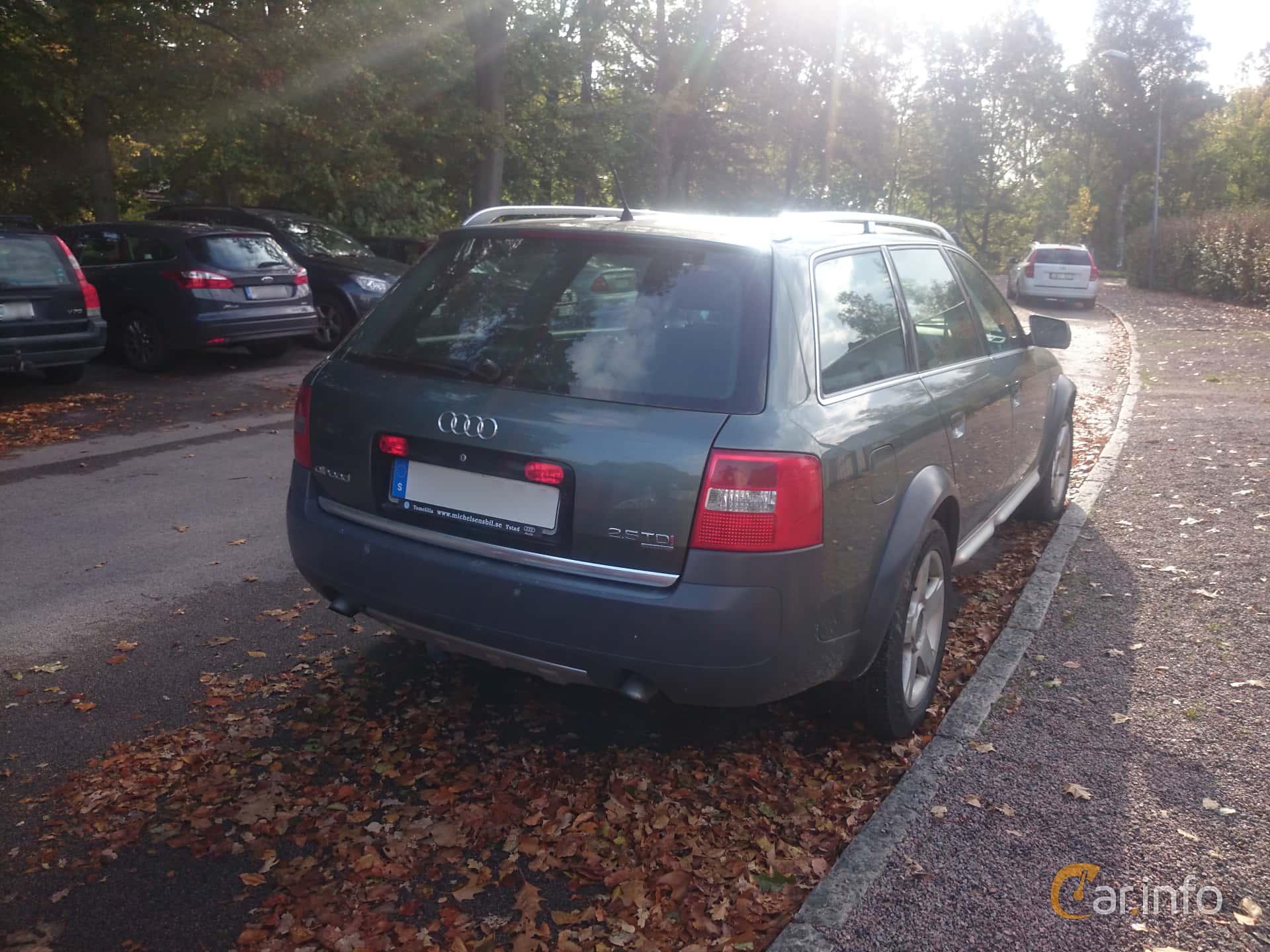 2 Images Of Audi A6 Allroad Quattro 25 Tdi V6 Quattro Tiptronic