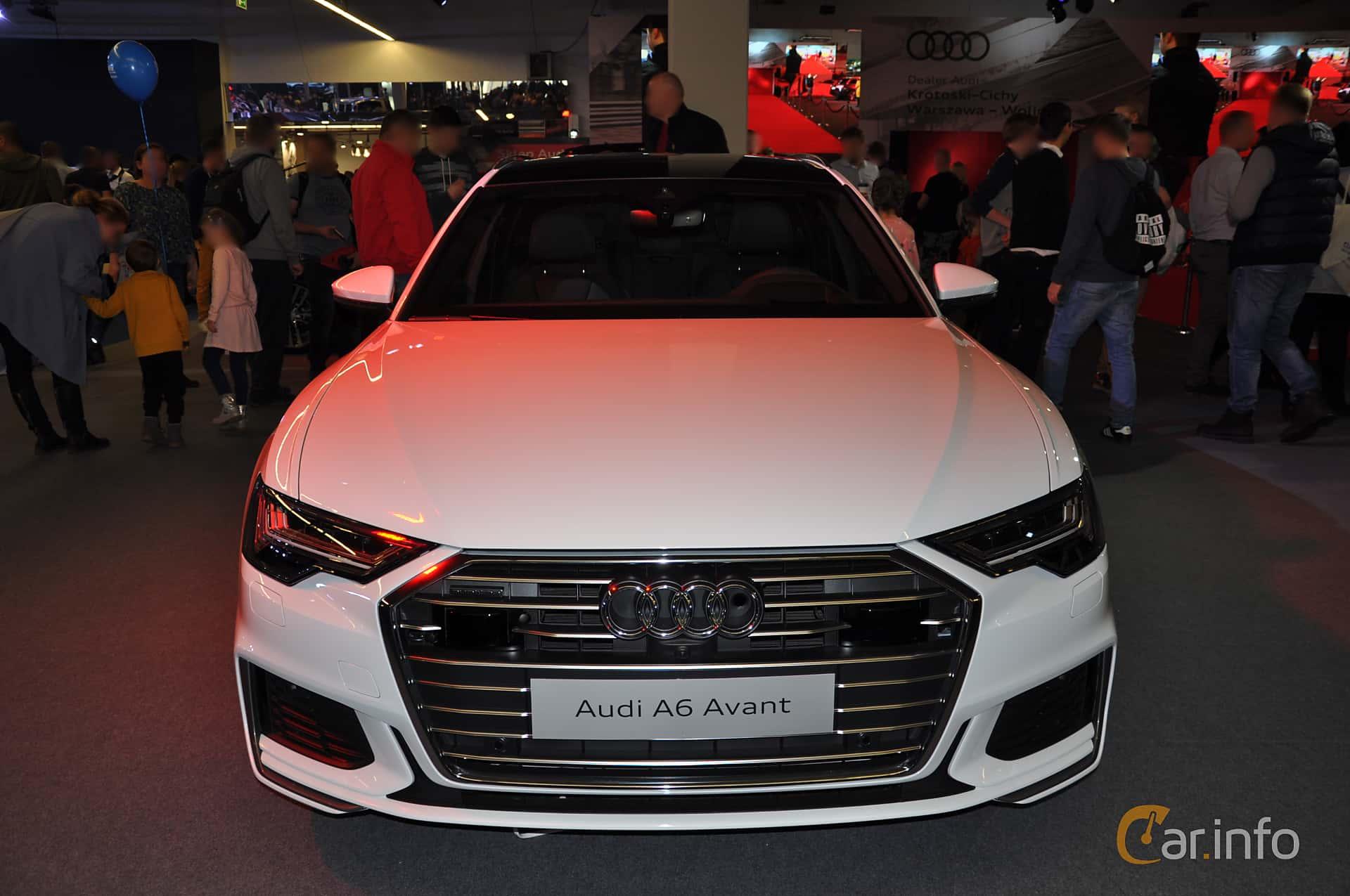 Audi A6 50 TDI quattro Avant  TipTronic, 286hp, 2018 at Warsawa Motorshow 2018