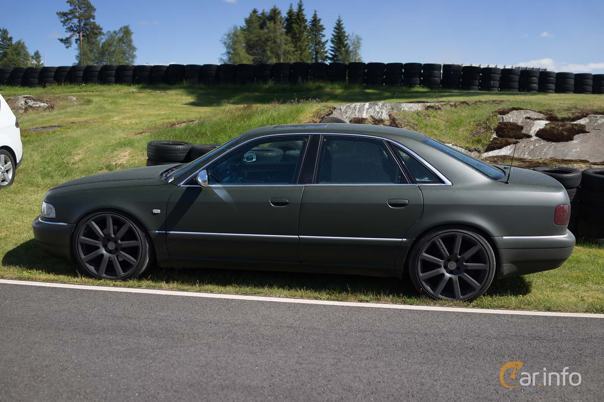 Audi A8 2.5 TDI V6 Manual, 150hp, 1997 at Gatebil Rudskogen juli 2015