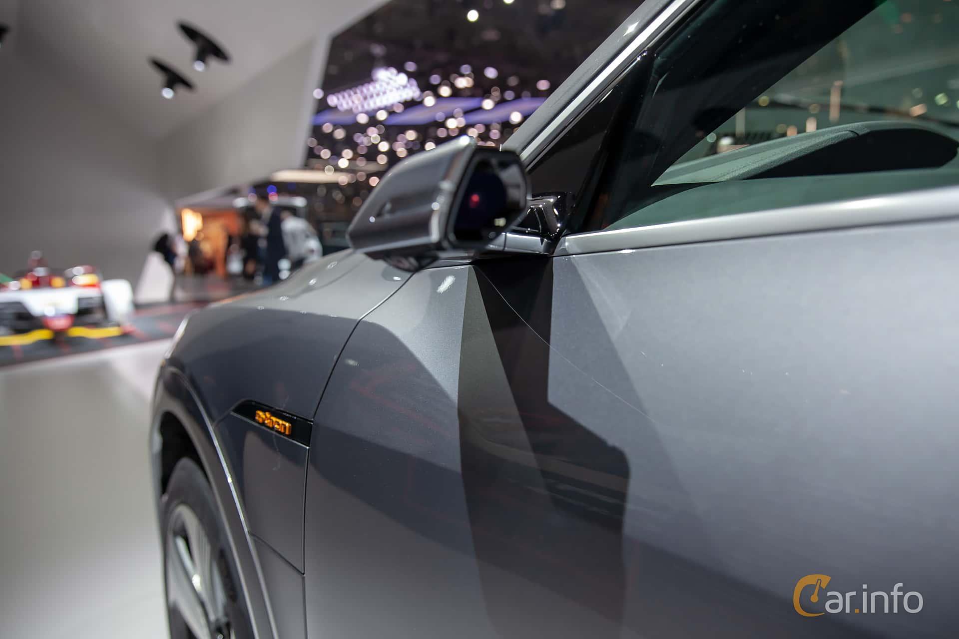Audi e-tron 55 quattro  Single Speed, 408hp, 2019 at Geneva Motor Show 2019