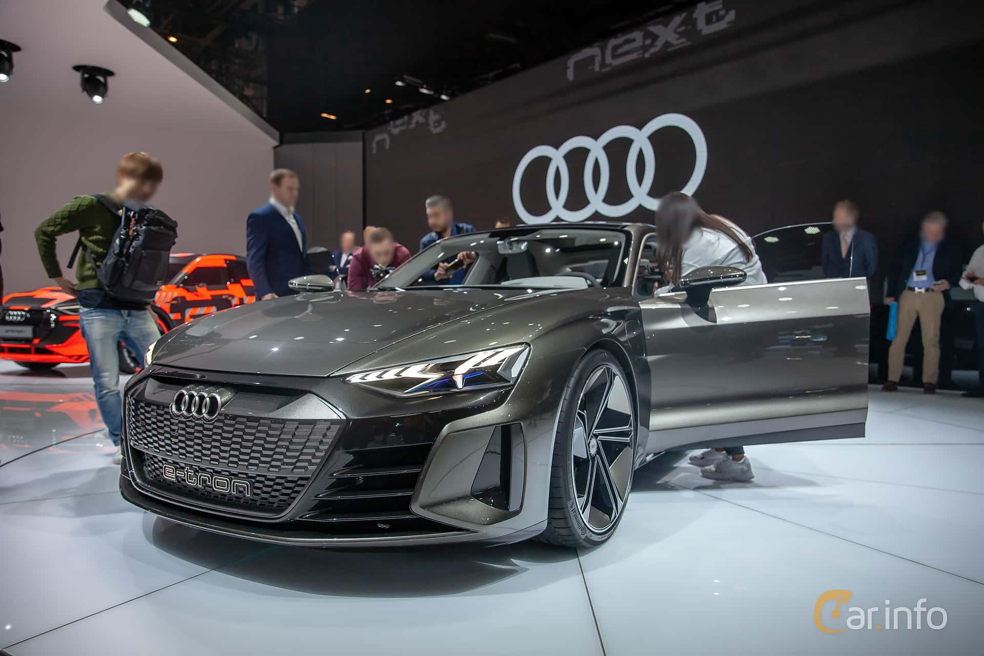 Audi e-tron GT 90 kWh quattro Single Speed, 590hp, 2019 at Geneva Motor Show 2019
