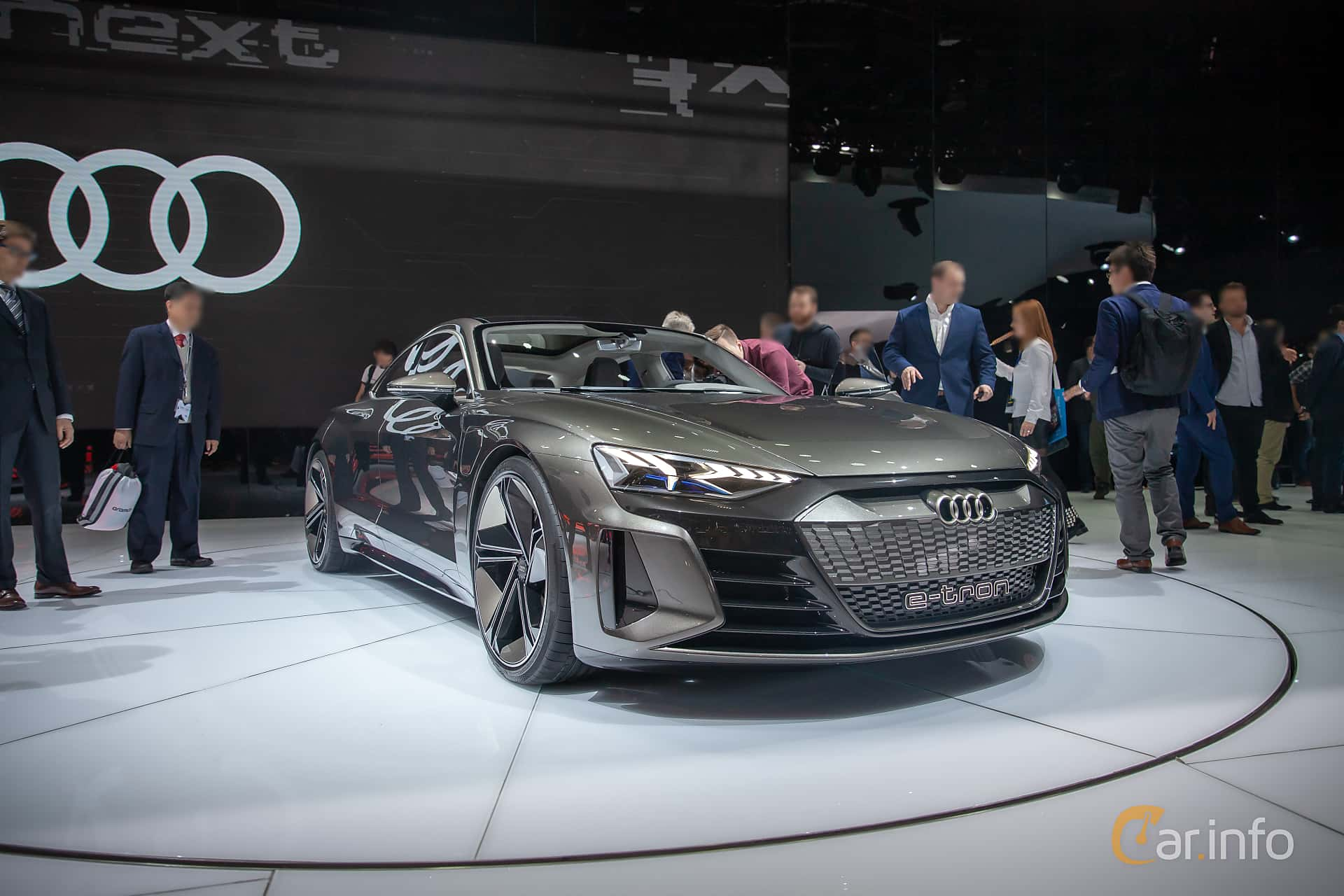 Audi e-tron GT 90 kWh quattro Single Speed, 590hp, 2019 at Geneva Motor Show 2019