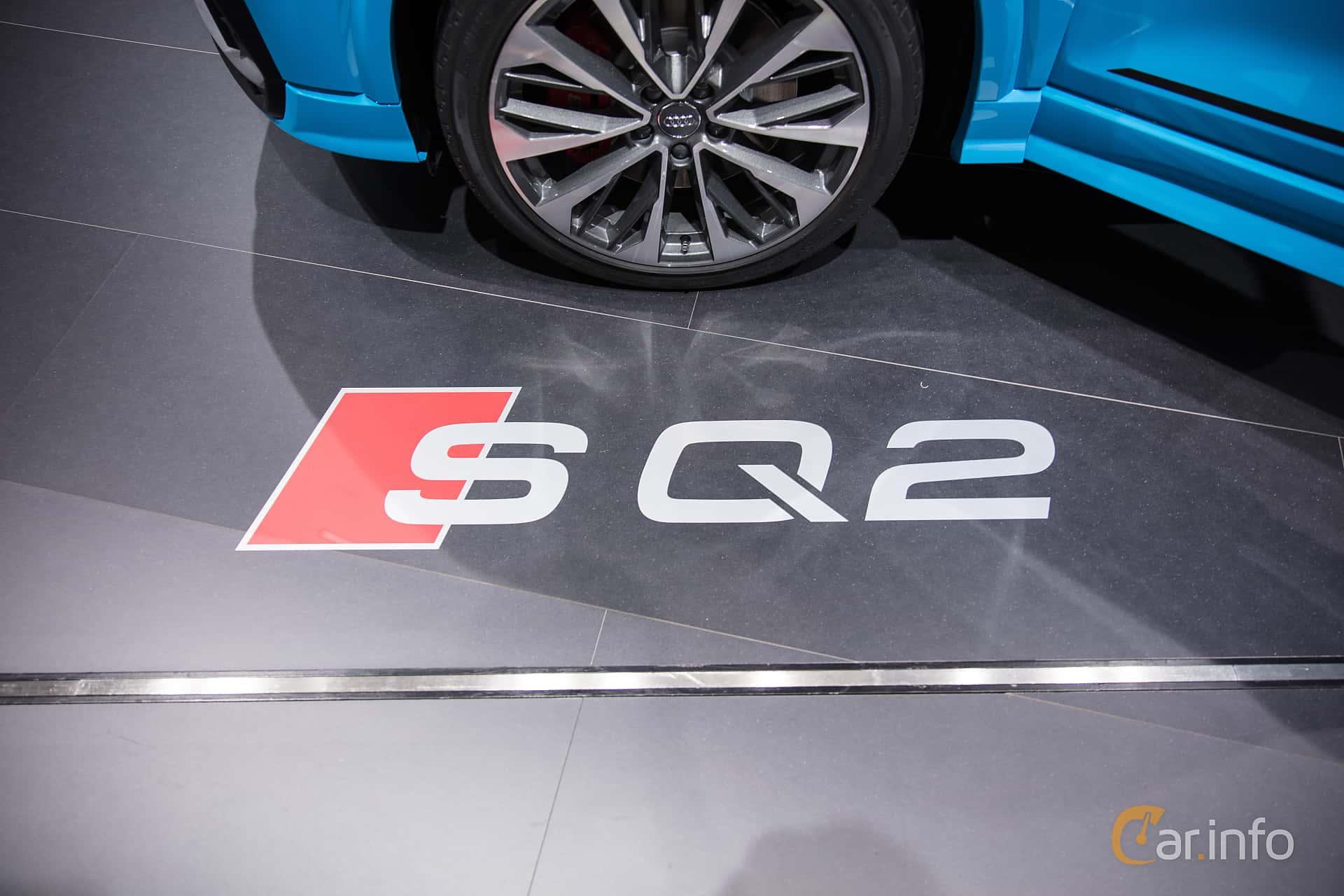 Audi SQ2 2.0 TFSI quattro S Tronic, 300hp, 2019 at Paris Motor Show 2018