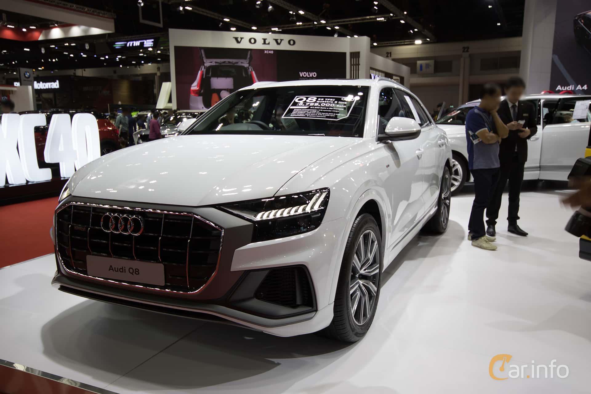 Audi Q8 55 TFSI quattro  TipTronic, 340hp, 2019 at Bangkok Motor Show 2019