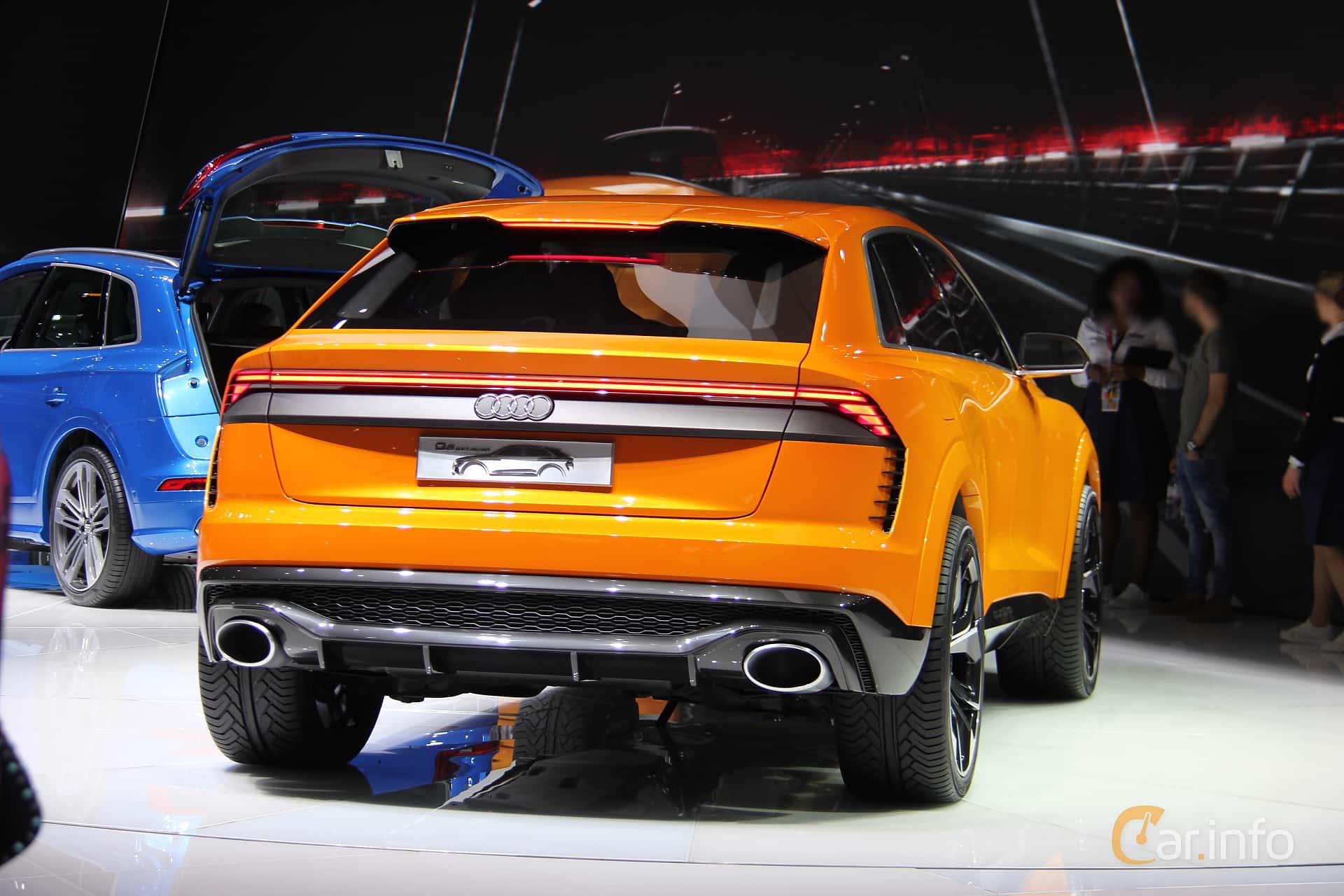 Audi Q8 Sport Concept Concept, 2017