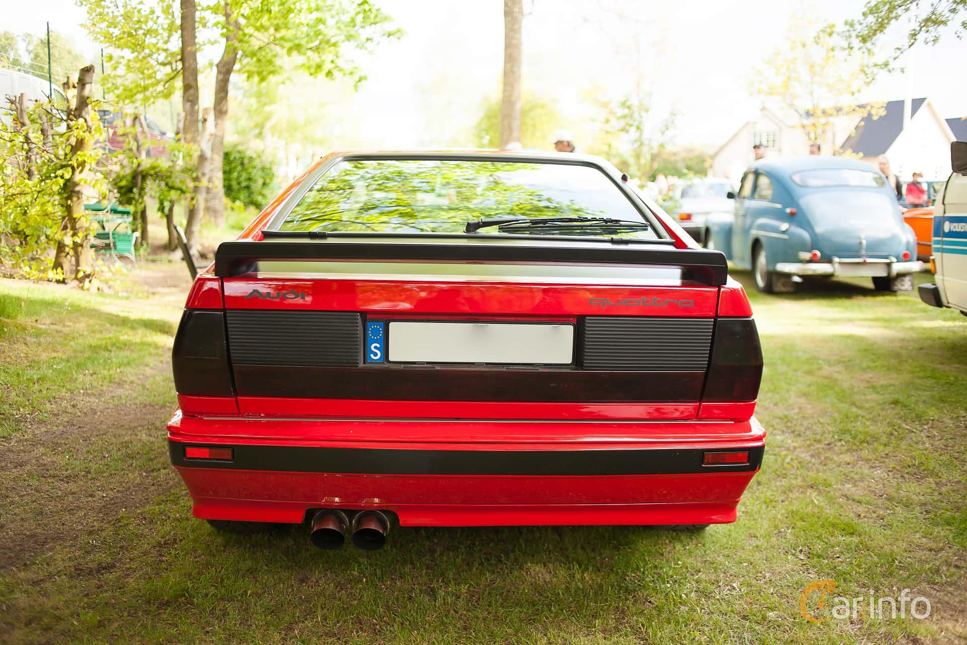Audi quattro 2.1 quattro Manual, 200hp, 1983 at Billesholms Veteranbilsträff Maj / 2015