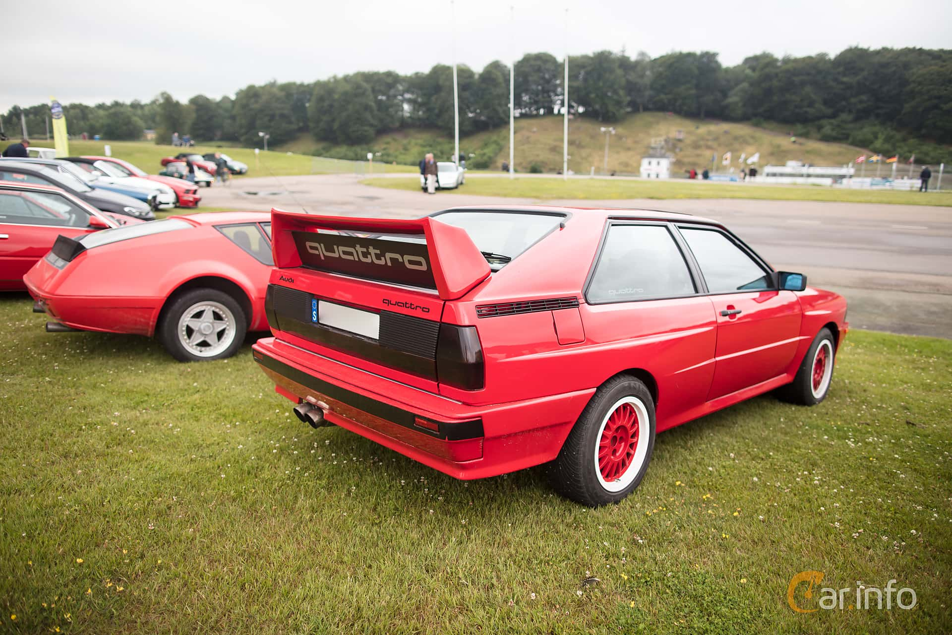 Audi quattro 2.1 quattro Manual, 200hp, 1983 at Svenskt sportvagnsmeeting 2017