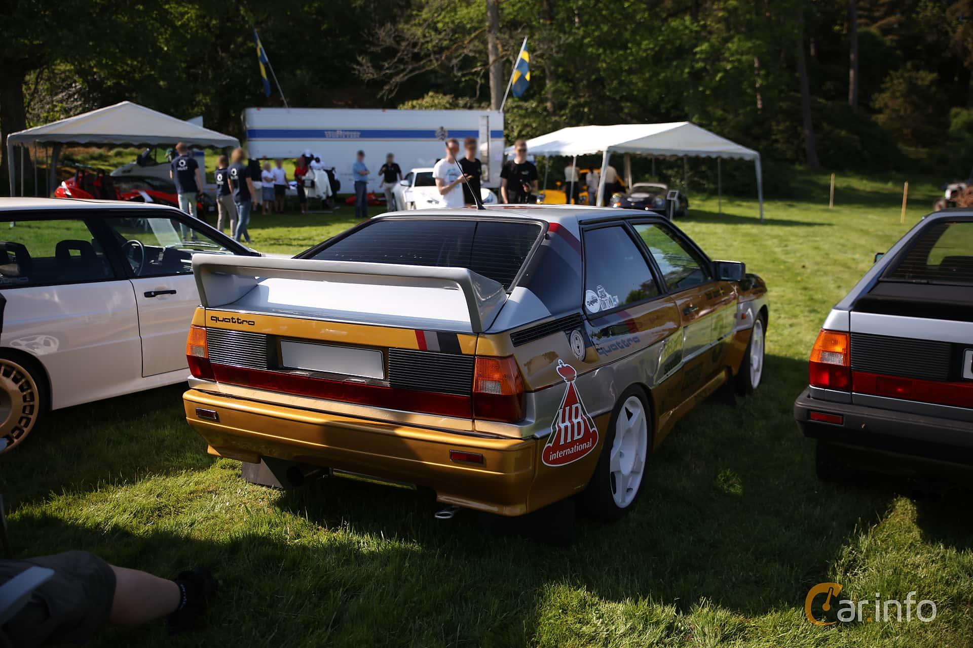 Audi quattro 2.1 quattro Manual, 200hp, 1984 at Tjolöholm Classic Motor 2018