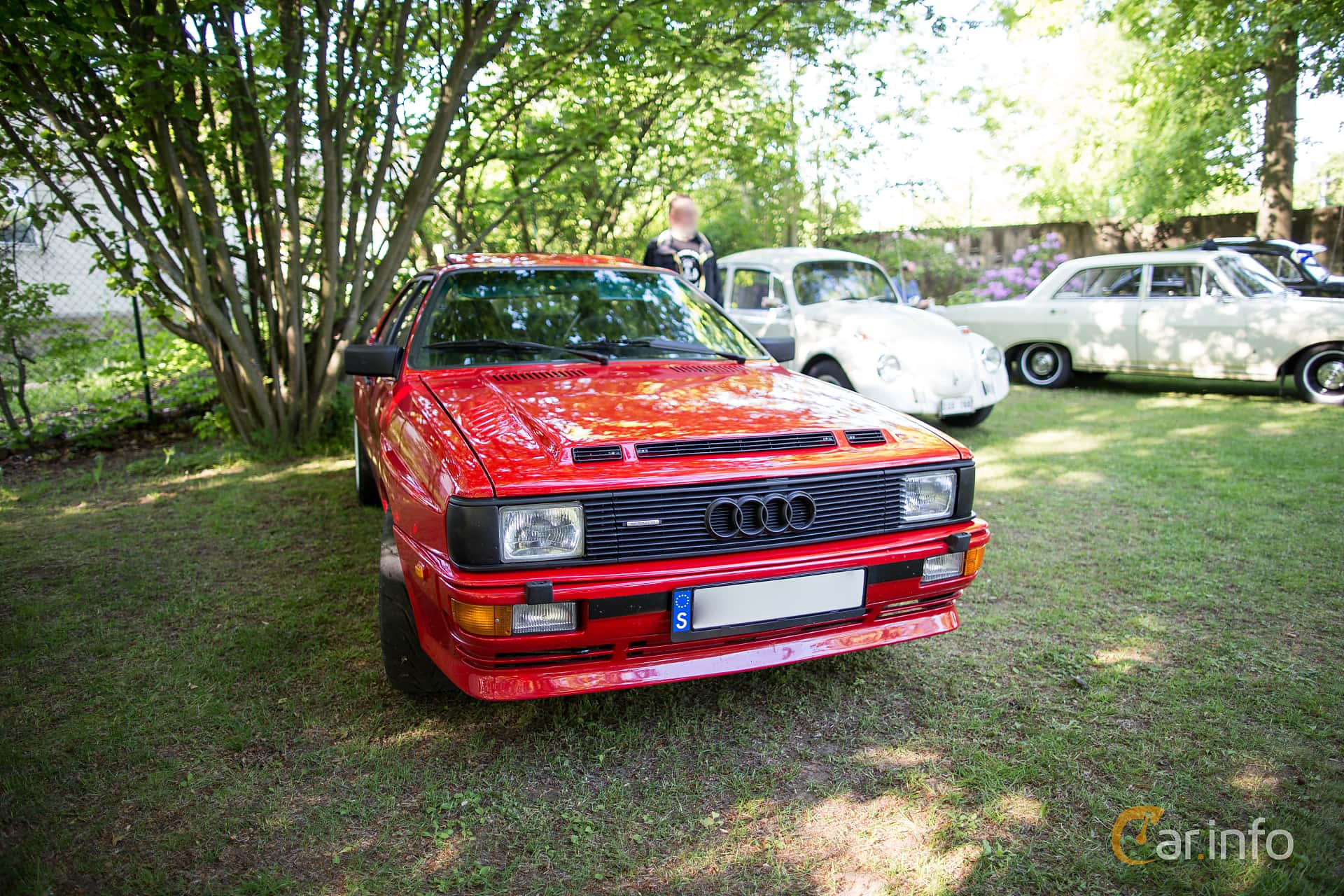 Audi quattro 2.1 quattro Manual, 200hp, 1983 at Billesholms Veteranbilsträff Juni / 2015