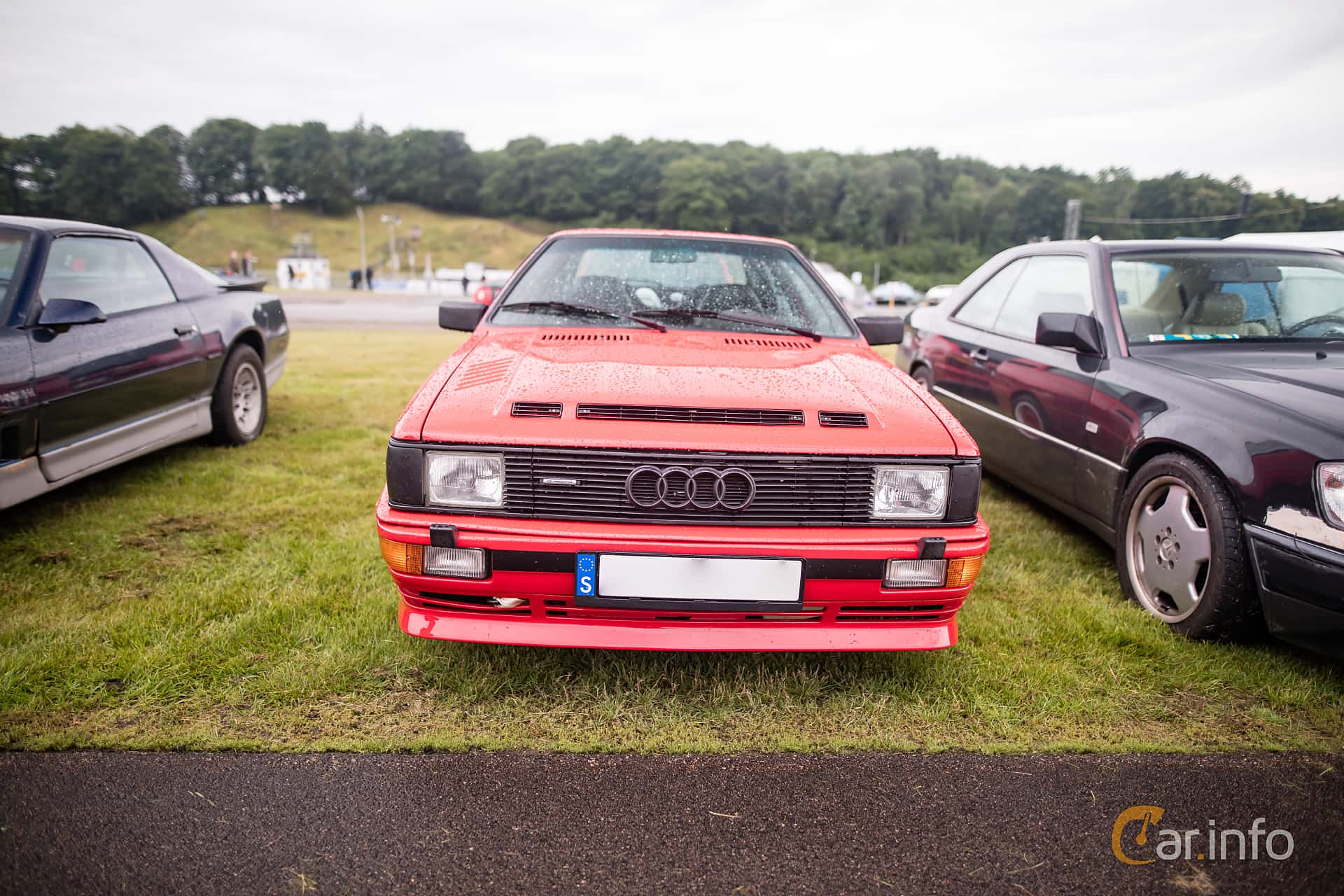 Audi quattro 2.1 quattro Manual, 200hp, 1983 at Svenskt sportvagnsmeeting 2016