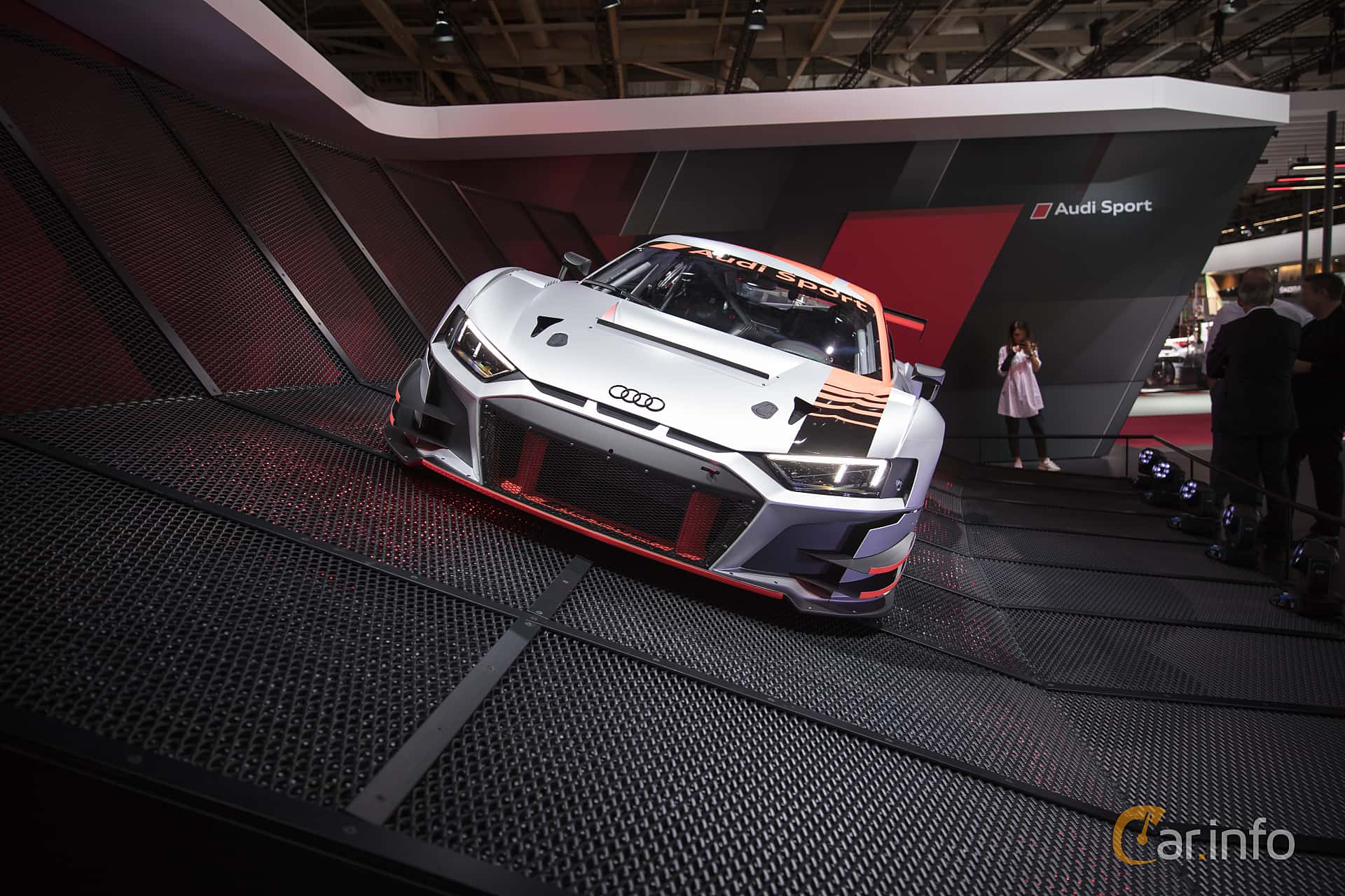 Audi R8 LMS 5.2 V10 FSI quattro Sequential, 585hp, 2018 at Paris Motor Show 2018