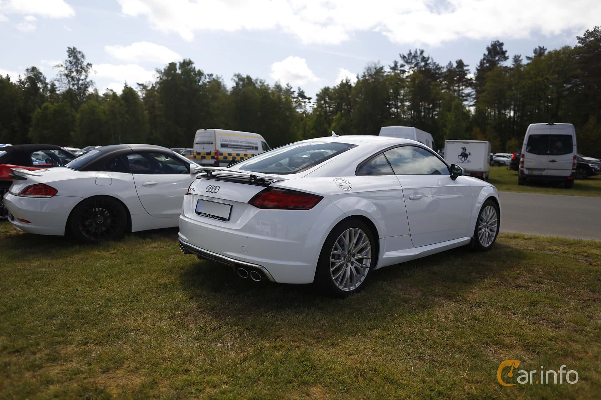 Audi TTS Coupé 2.0 TFSI quattro Manual, 310hp, 2018 at Anderstorp Sportbilsfestival 2019