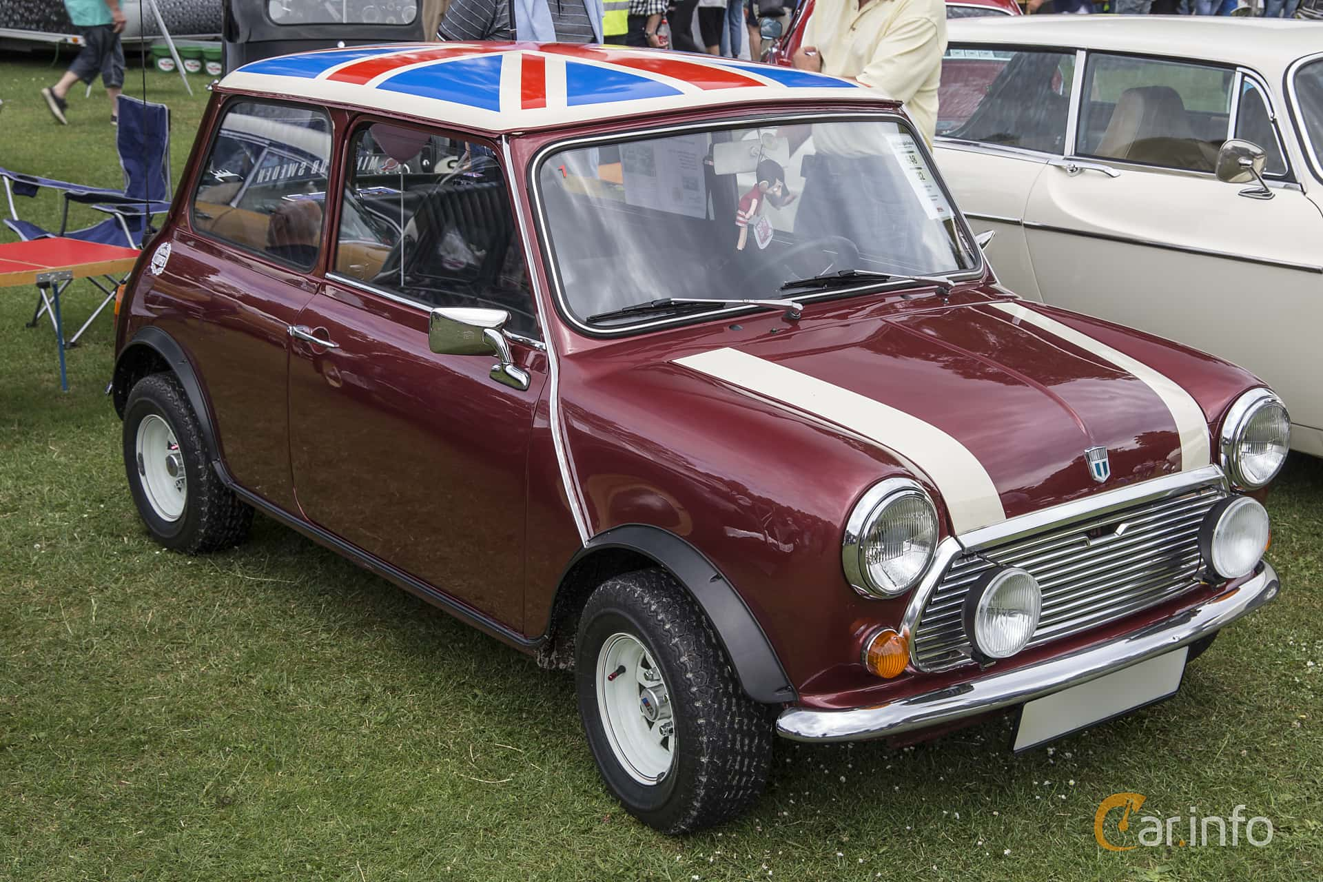 Austin Mini 1000 1.0 Manual, 39hp, 1973 at Ronneby Nostalgia Festival 2016