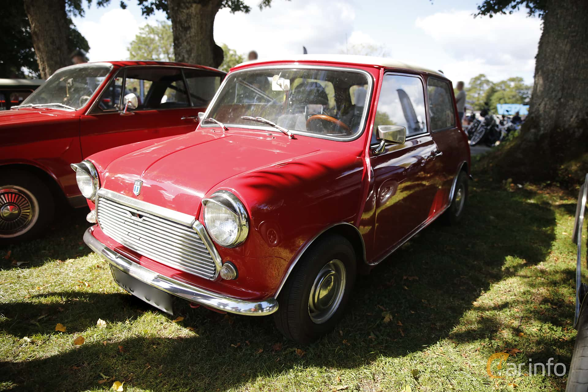Austin Mini 1000 1.0 Manual, 39hp, 1973 at Sportvagnsträffen 2016