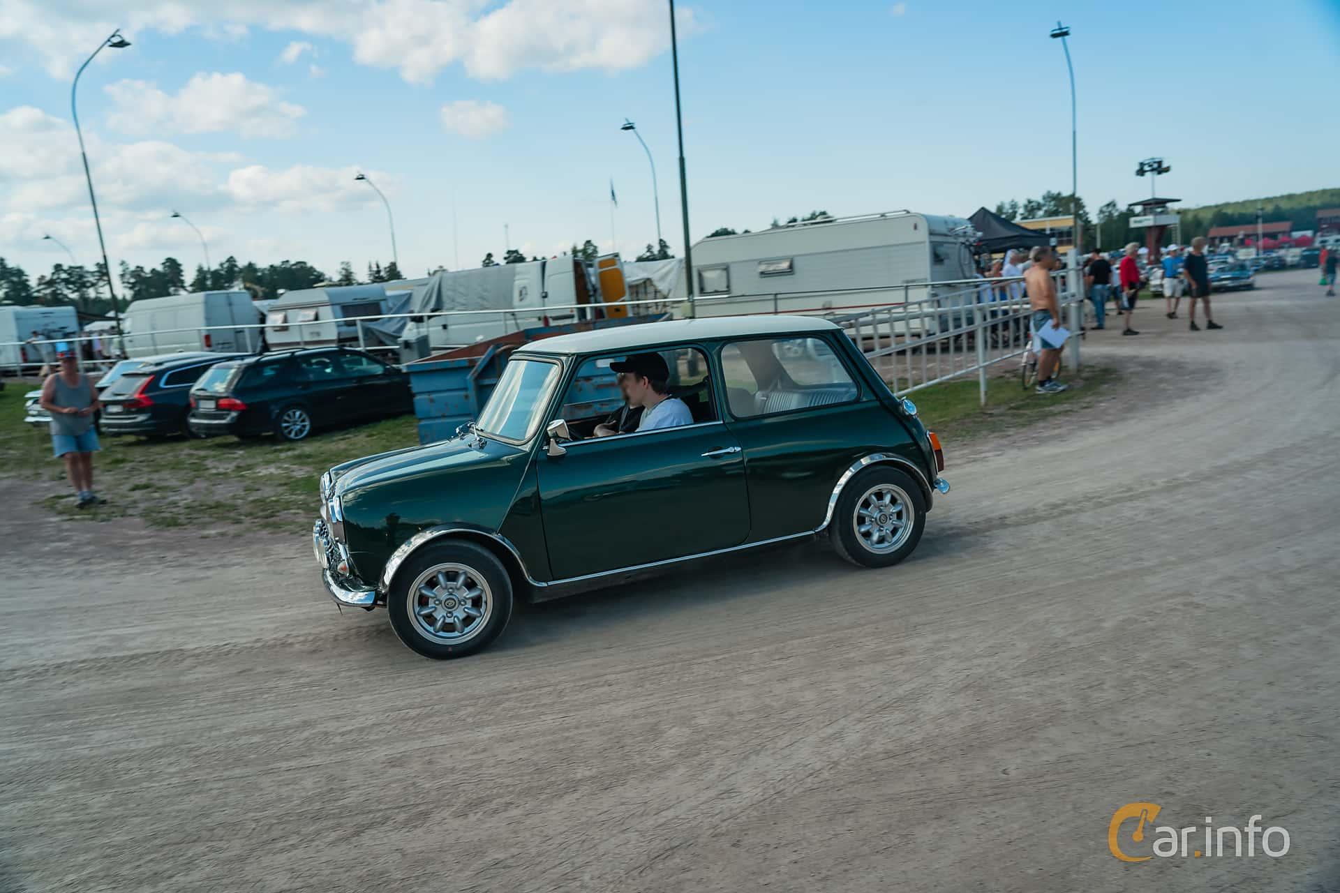 Austin Mini 1000 1.0 Manual, 39hp, 1975 at Classic Car Week Rättvik 2019 vecka 31
