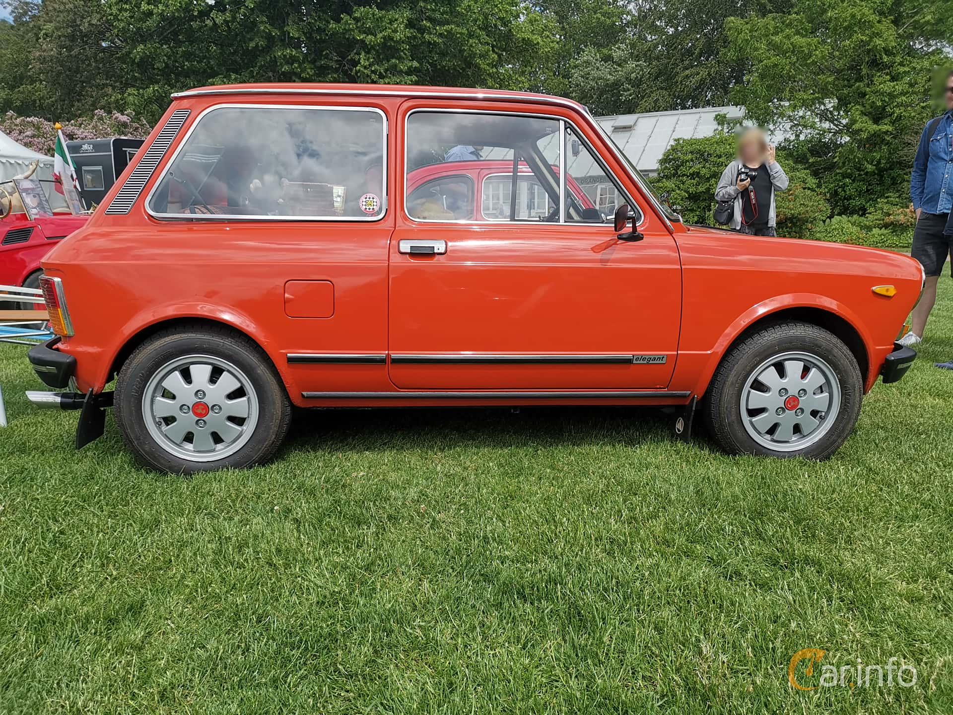 Autobianchi A112 0.9 Manual, 42hp, 1976 at Sofiero Classic 2019