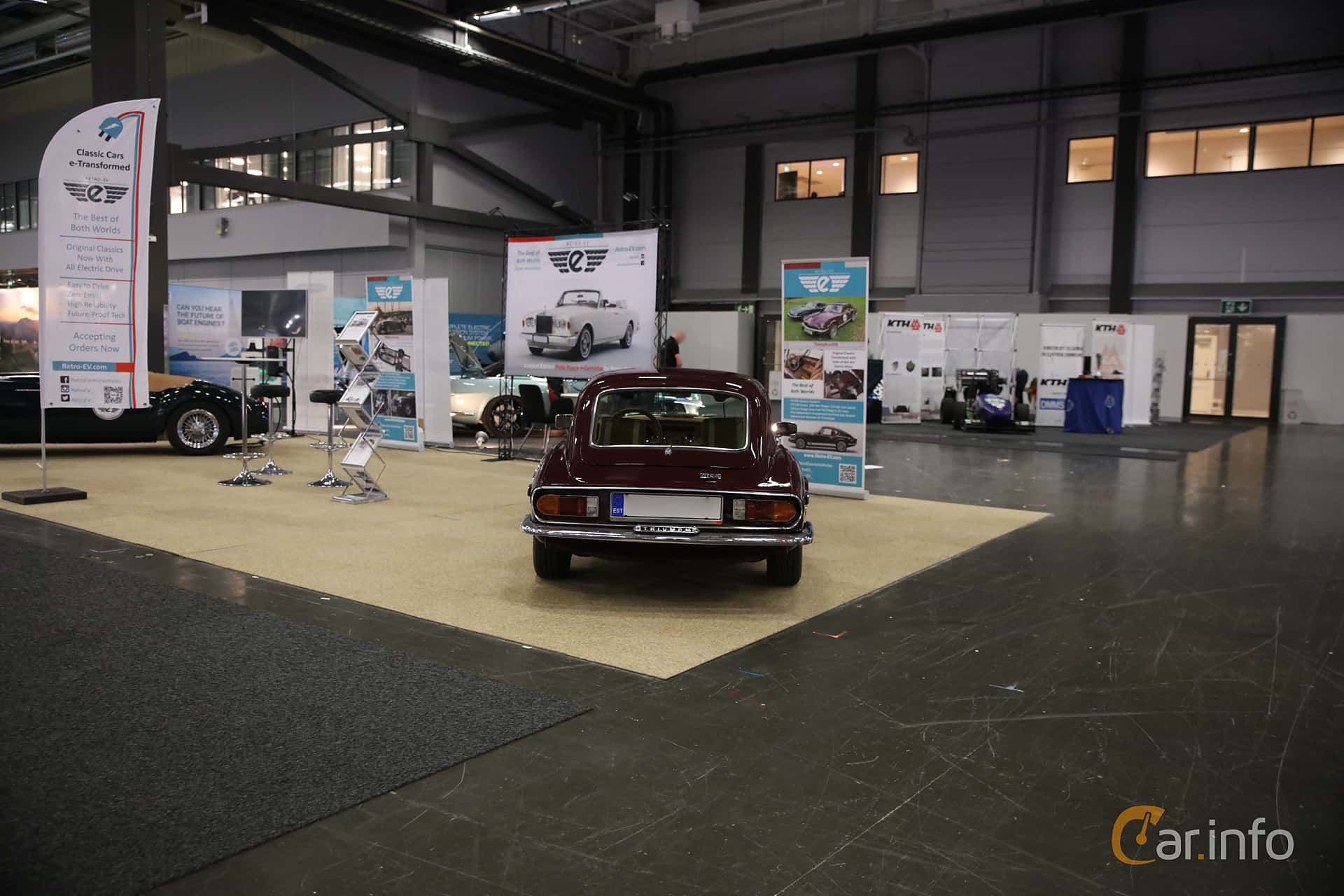Triumph GT6 2.0 Manual, 106hp, 1972 at eCar Expo Göteborg 2018