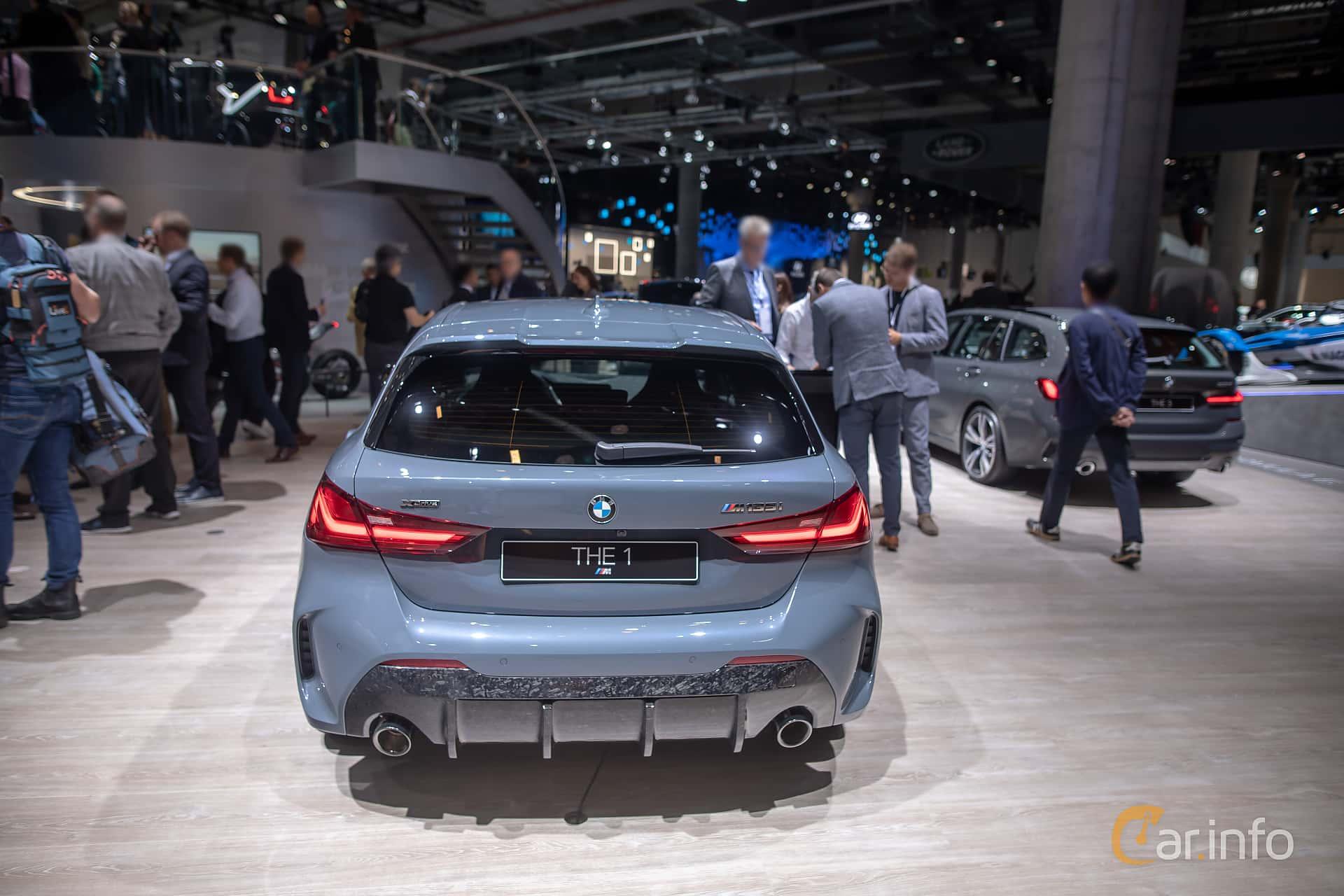 BMW M135i xDrive  Steptronic, 306hp, 2020 at IAA 2019