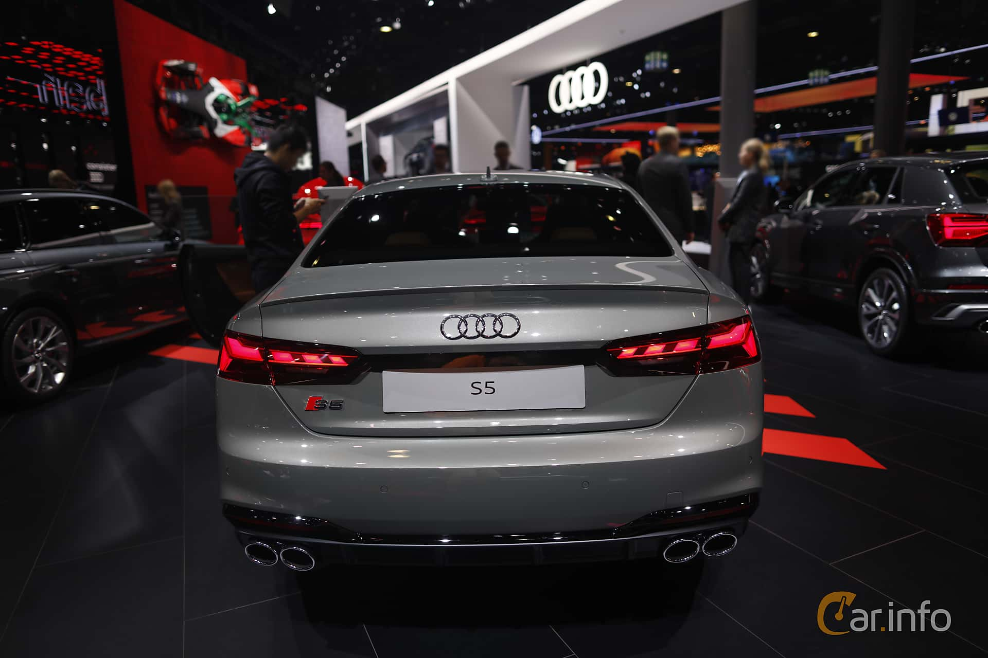 Audi S5 TDI Coupé 3.0 TDI quattro TipTronic, 347hp, 2020 at IAA 2019