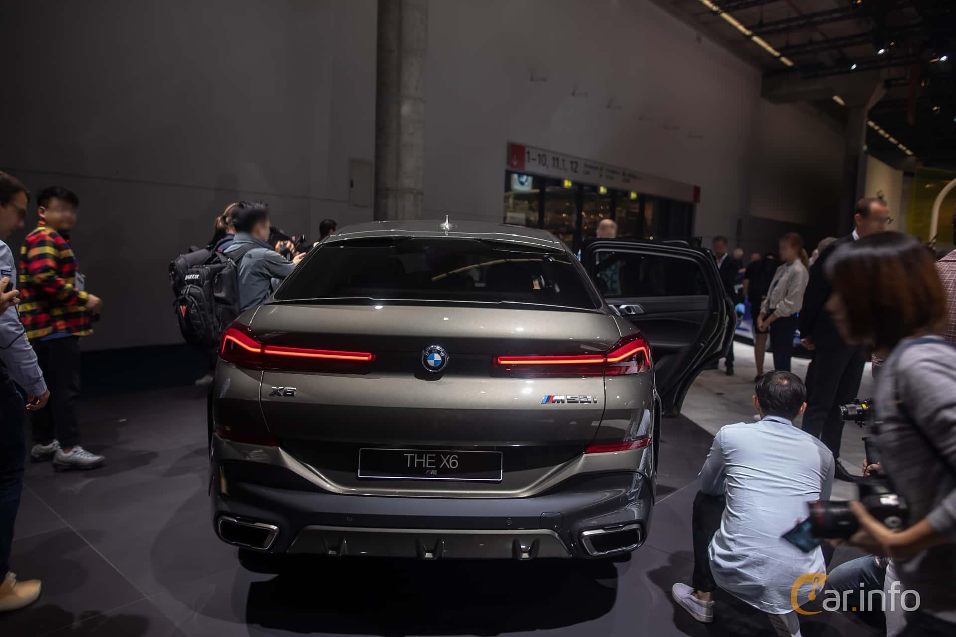 BMW X6 M50i  Steptronic, 530hp, 2020 at IAA 2019