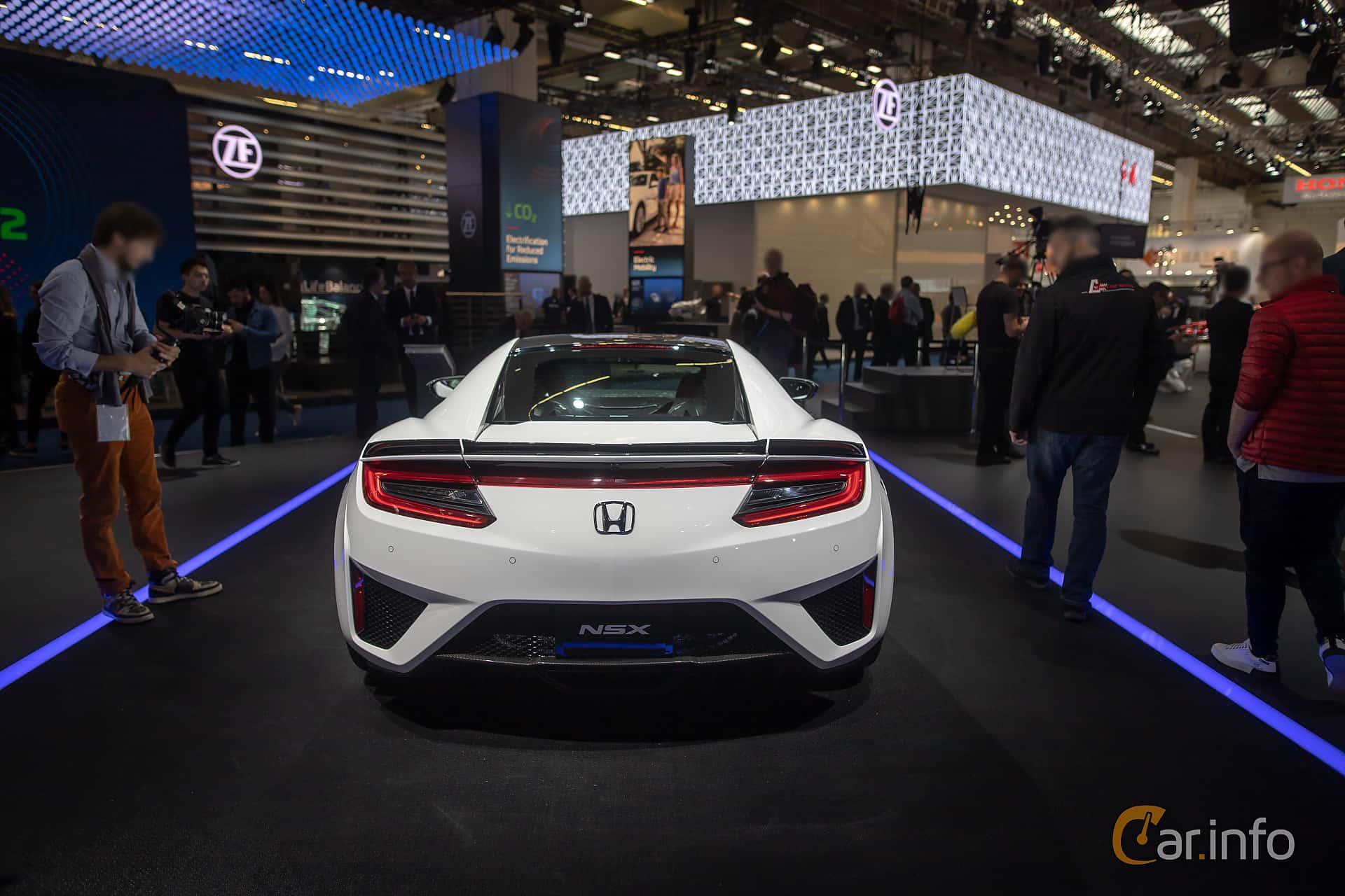 Honda NSX 3.5 V6 SH-AWD DCT, 581hp, 2020 at IAA 2019